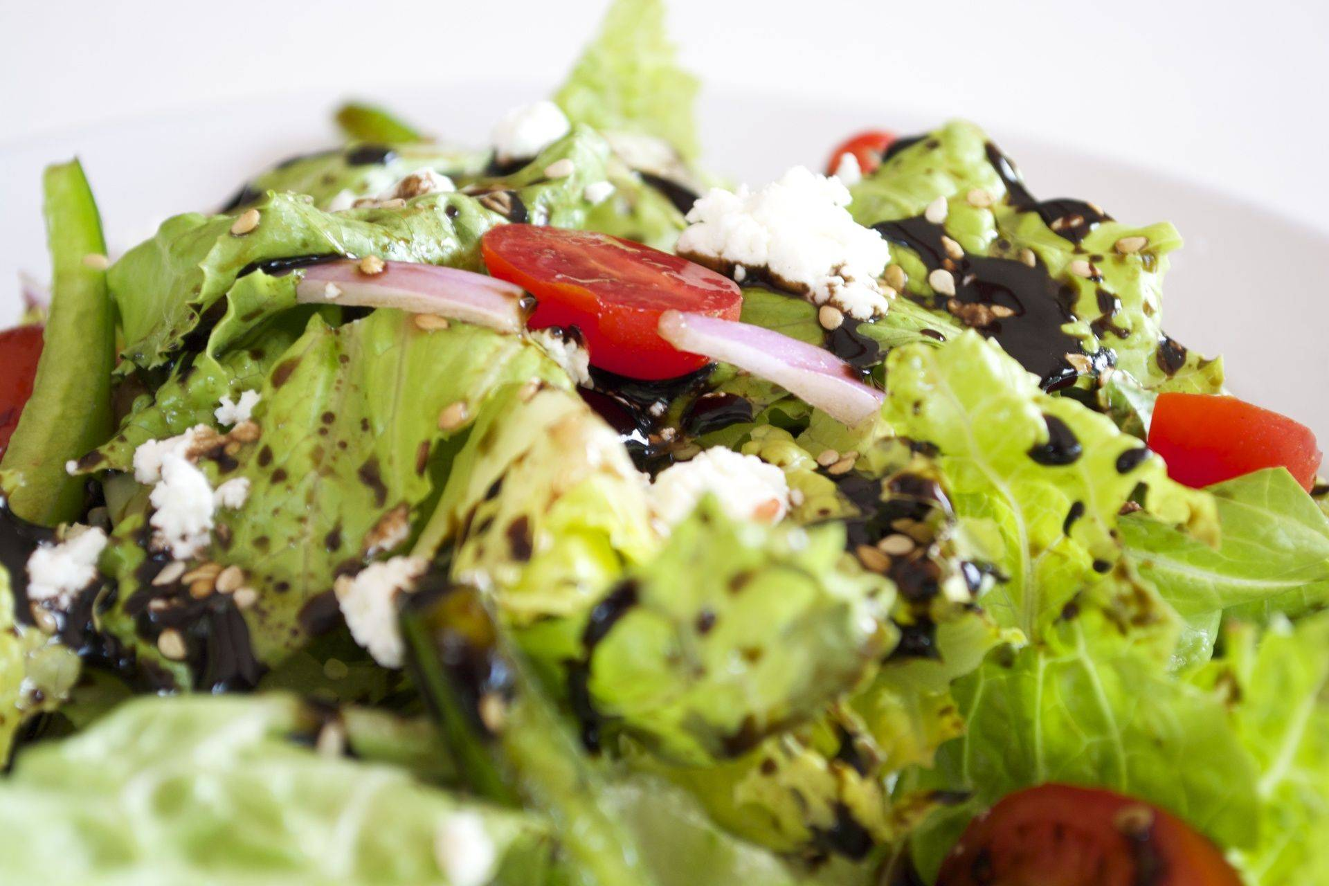 chac mool salad and goat cheese