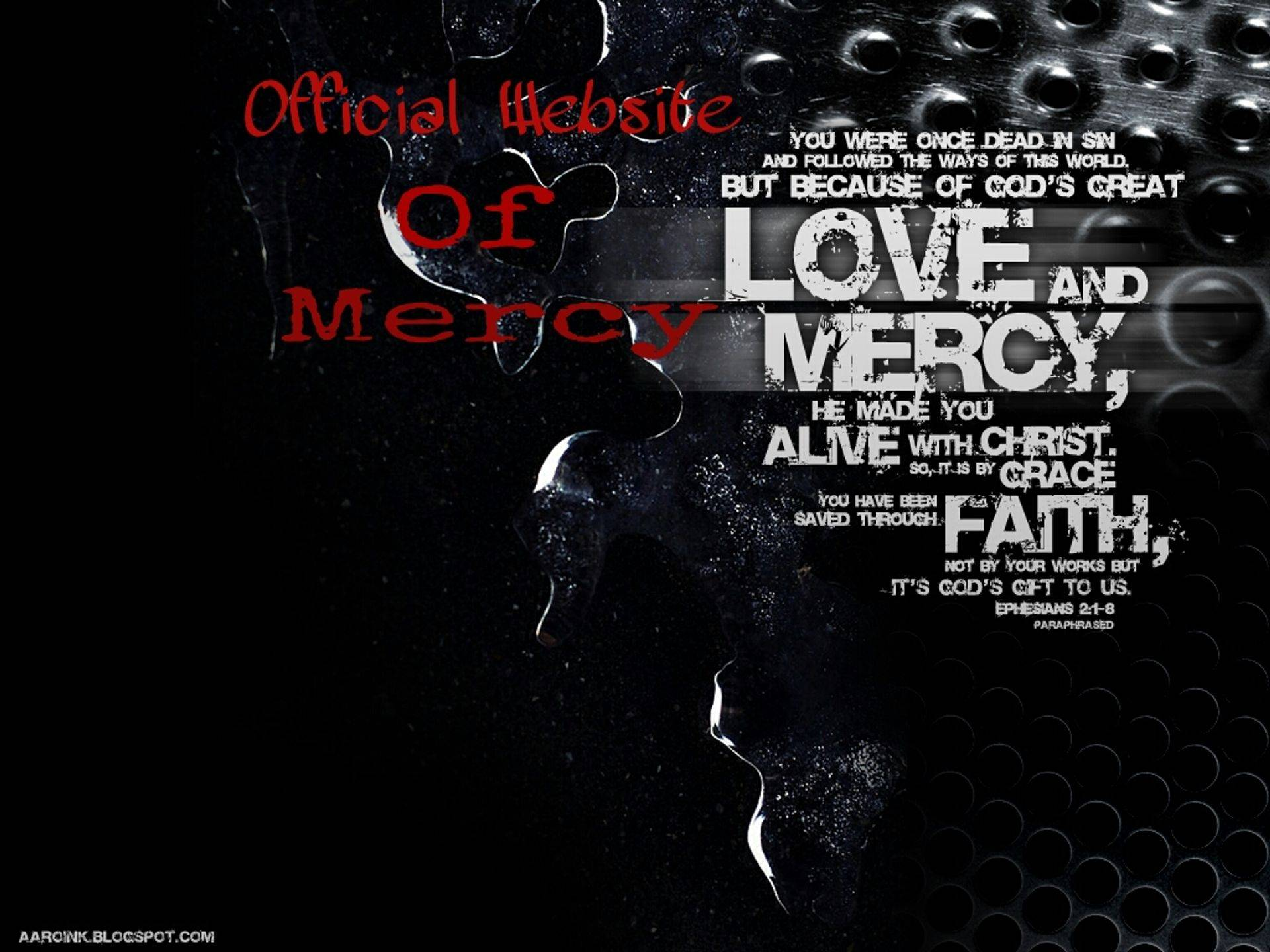 mercy there was great and grace was free