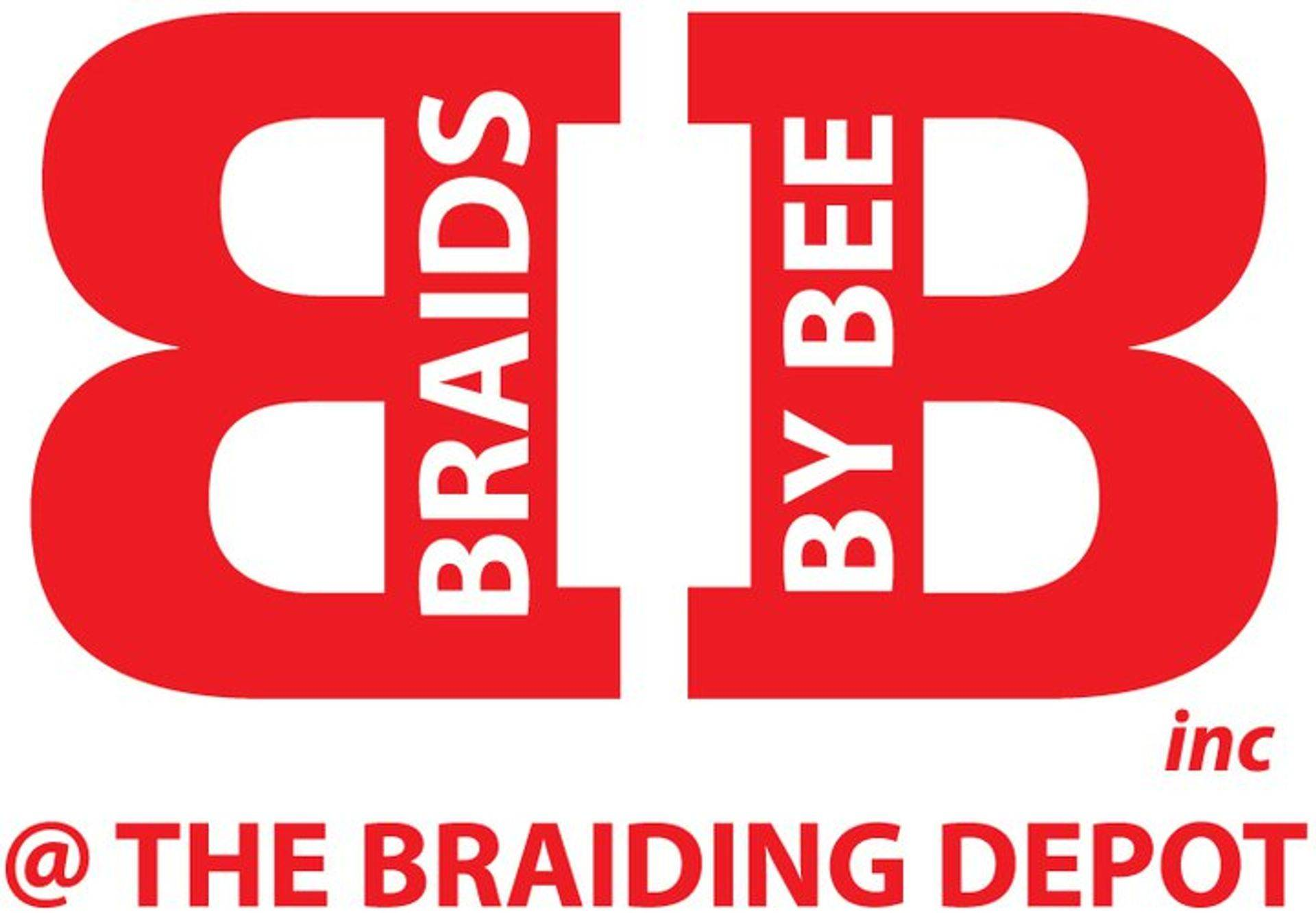 Braids by Bee logo for trademark services done at The Braiding Depot inc.