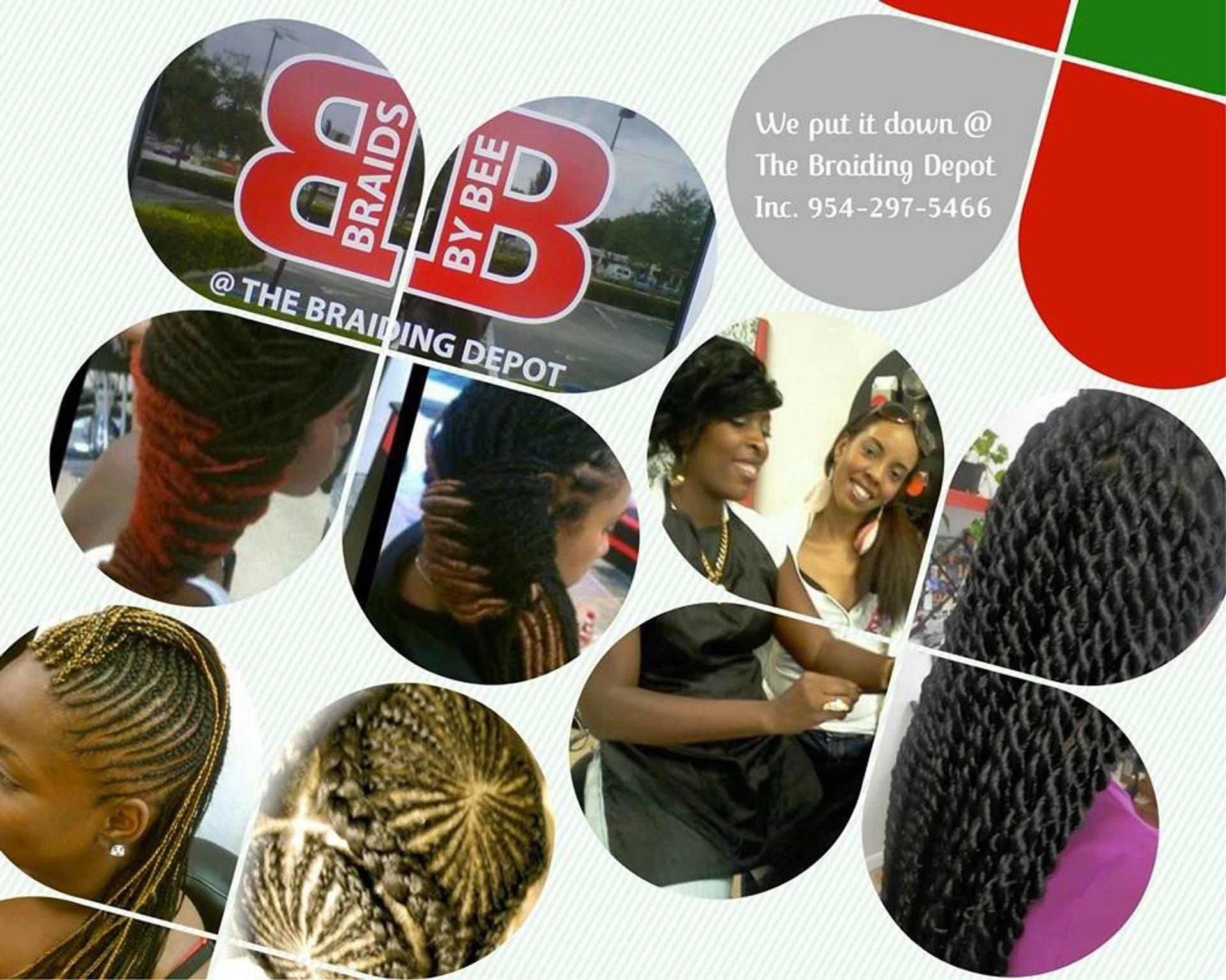 Braids by Bee specialize in design corn row braids.