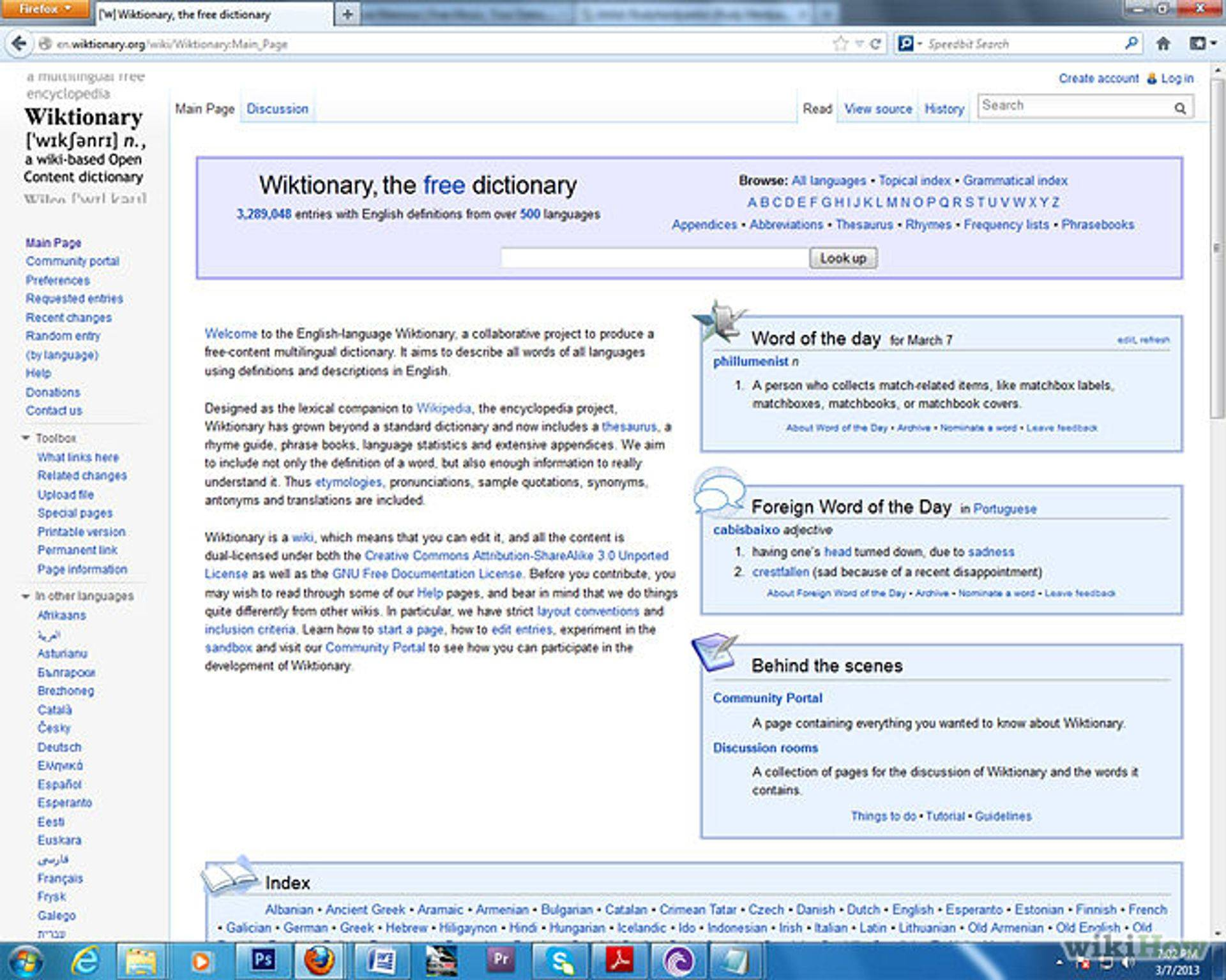 AppendixSwadesh lists  Wiktionary
