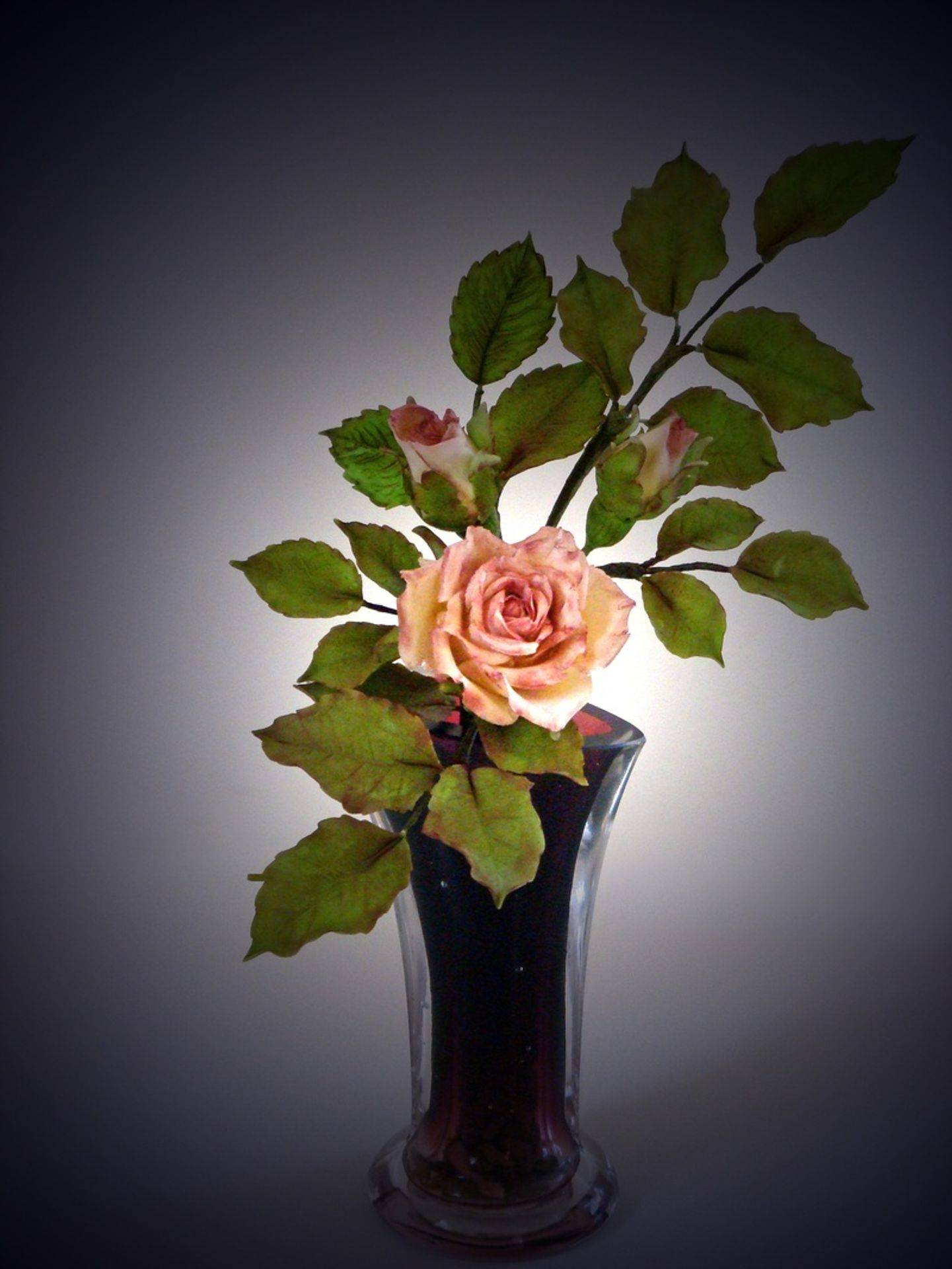 Cold Porcelain Rose