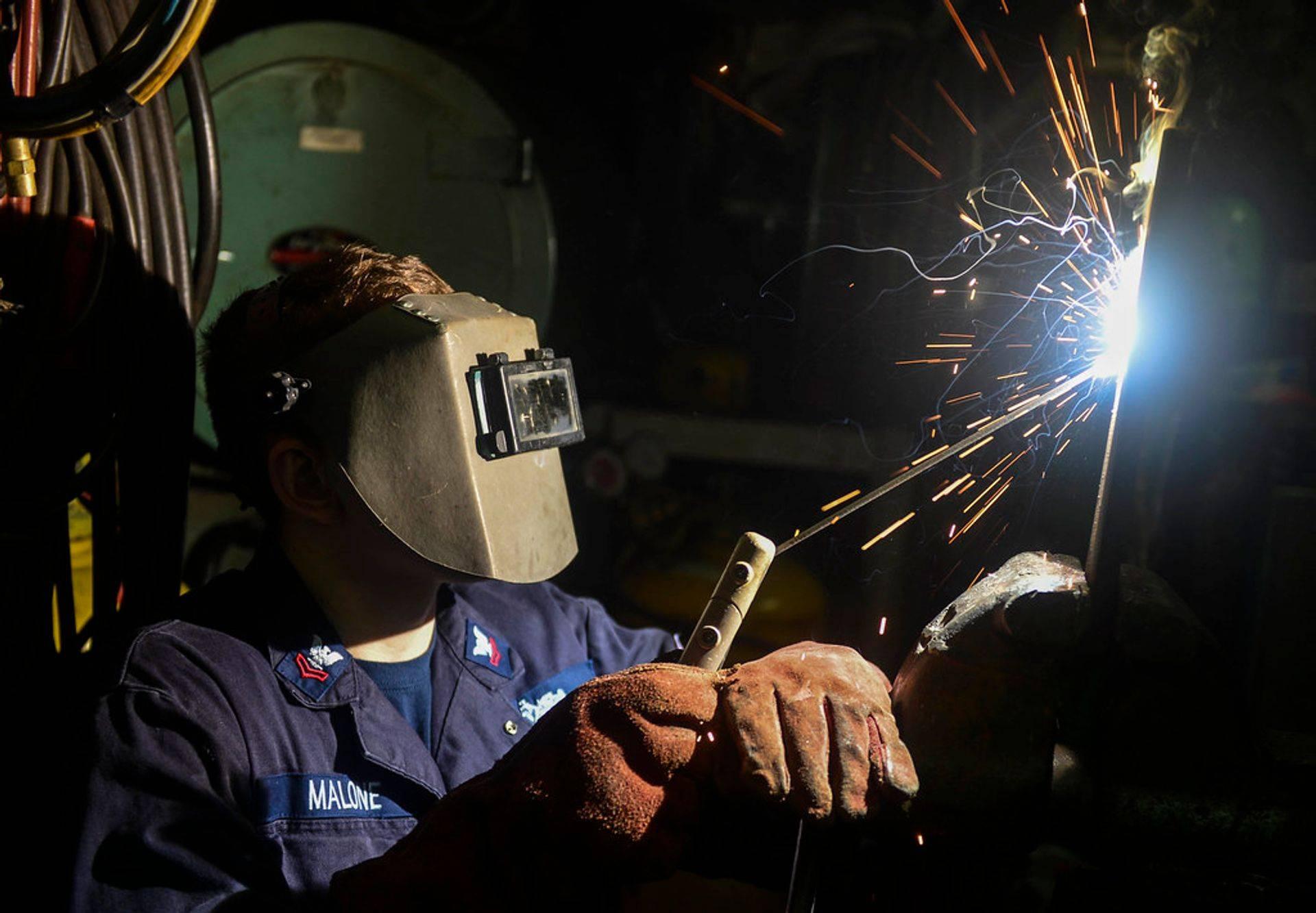 welding fume metal testing
