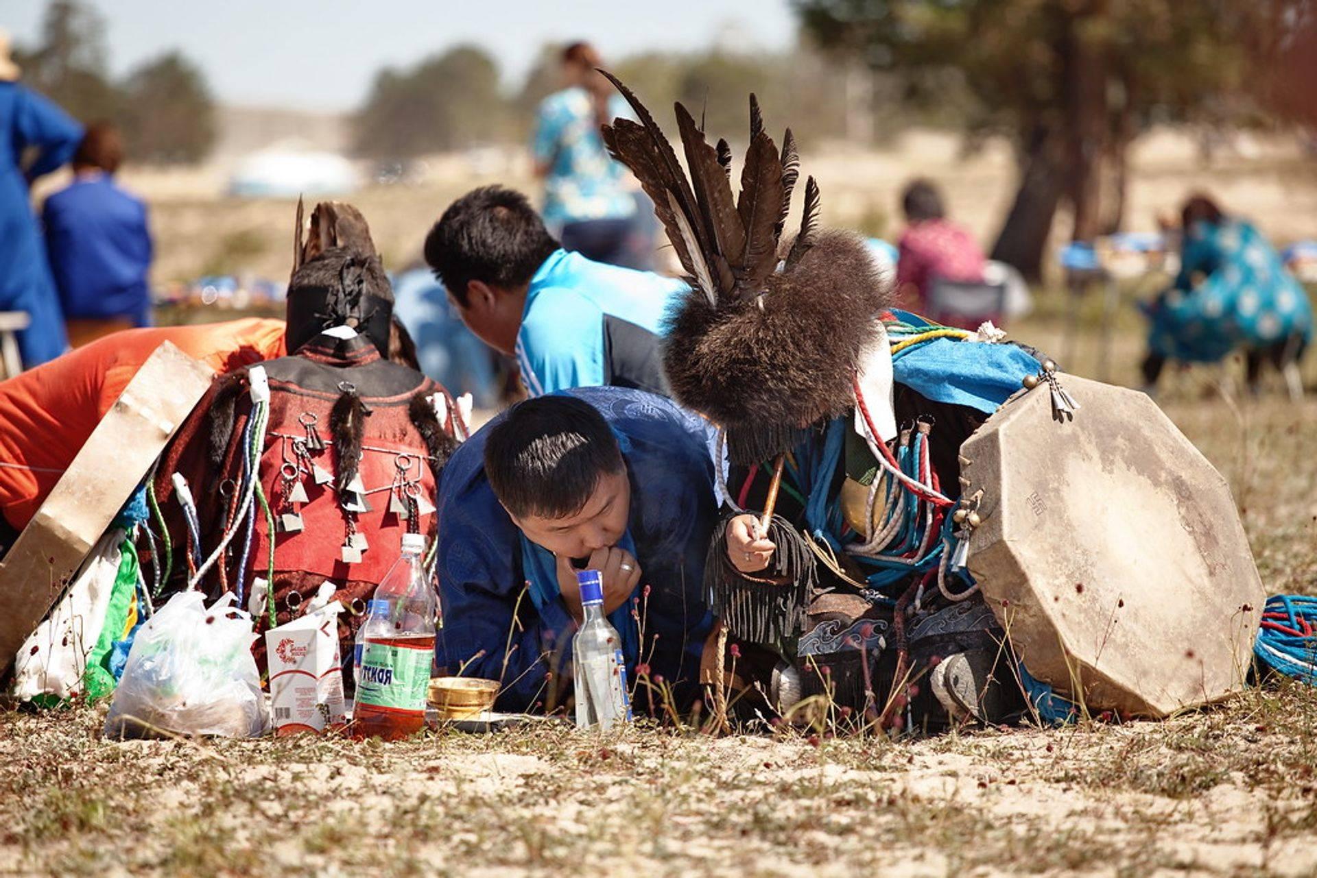 Gathering Shamans