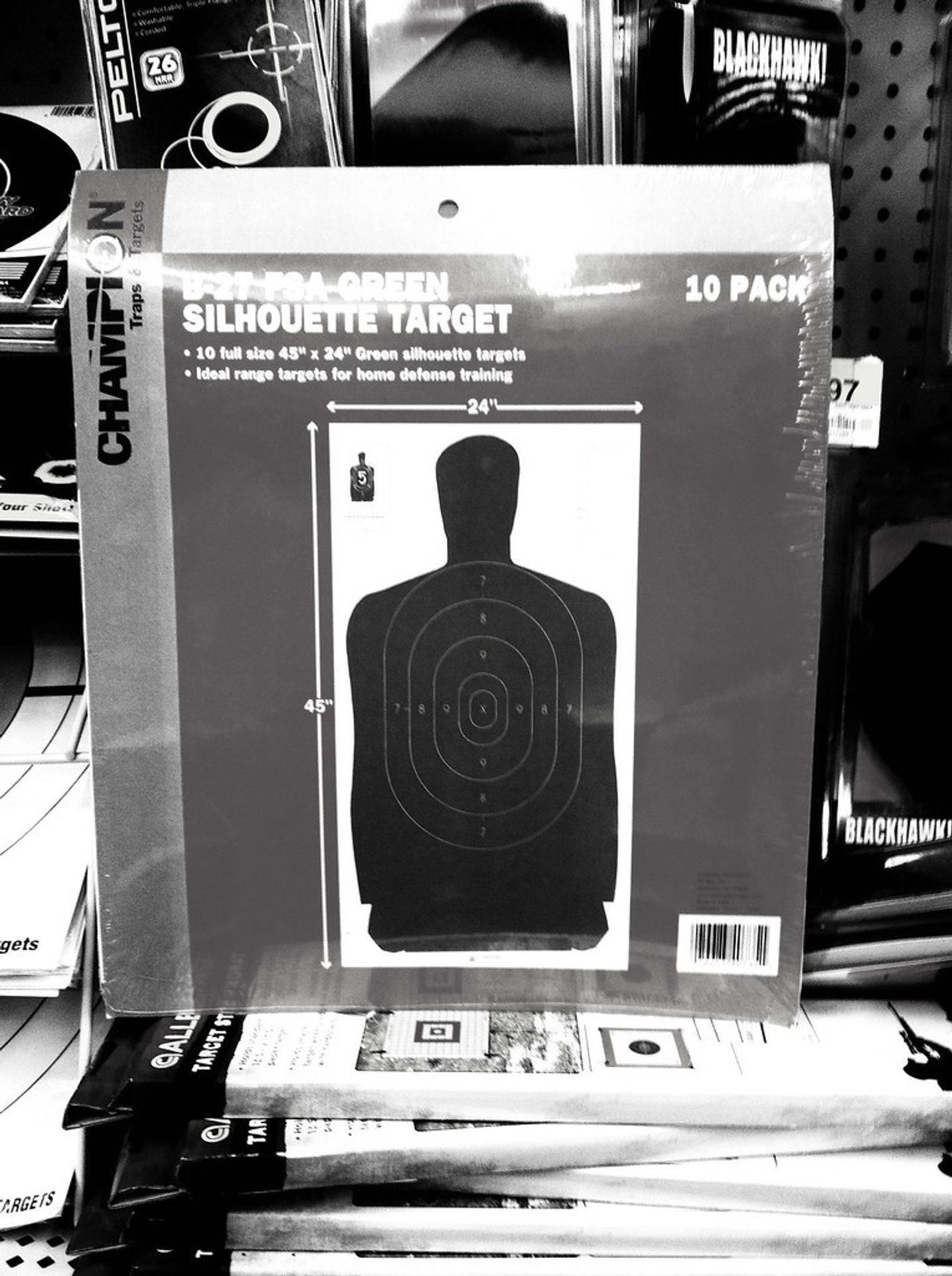 Targets, Shooting Training, Gun Range