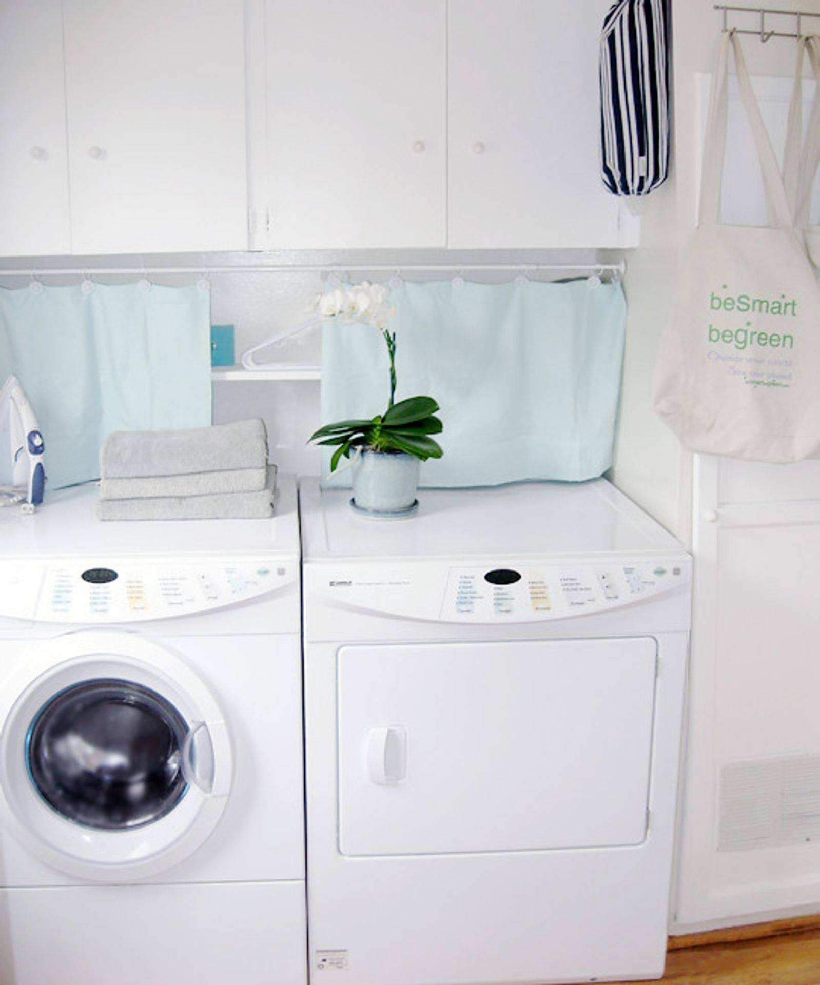 In-suite laundry rooms