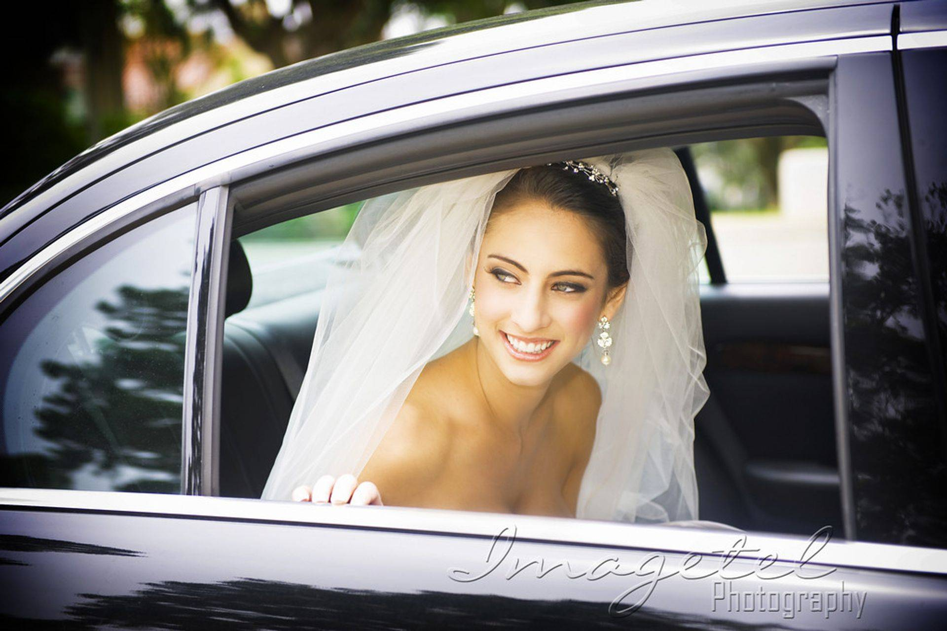 Stylish Bride and Riding in Style