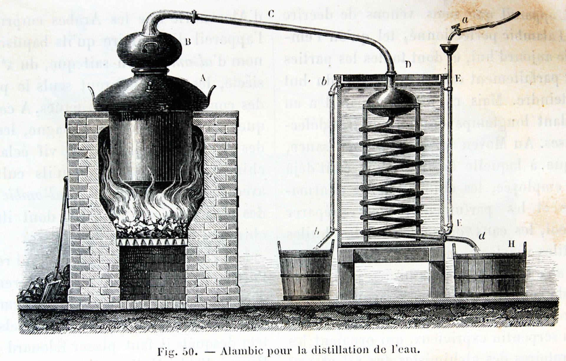 pot still engraving