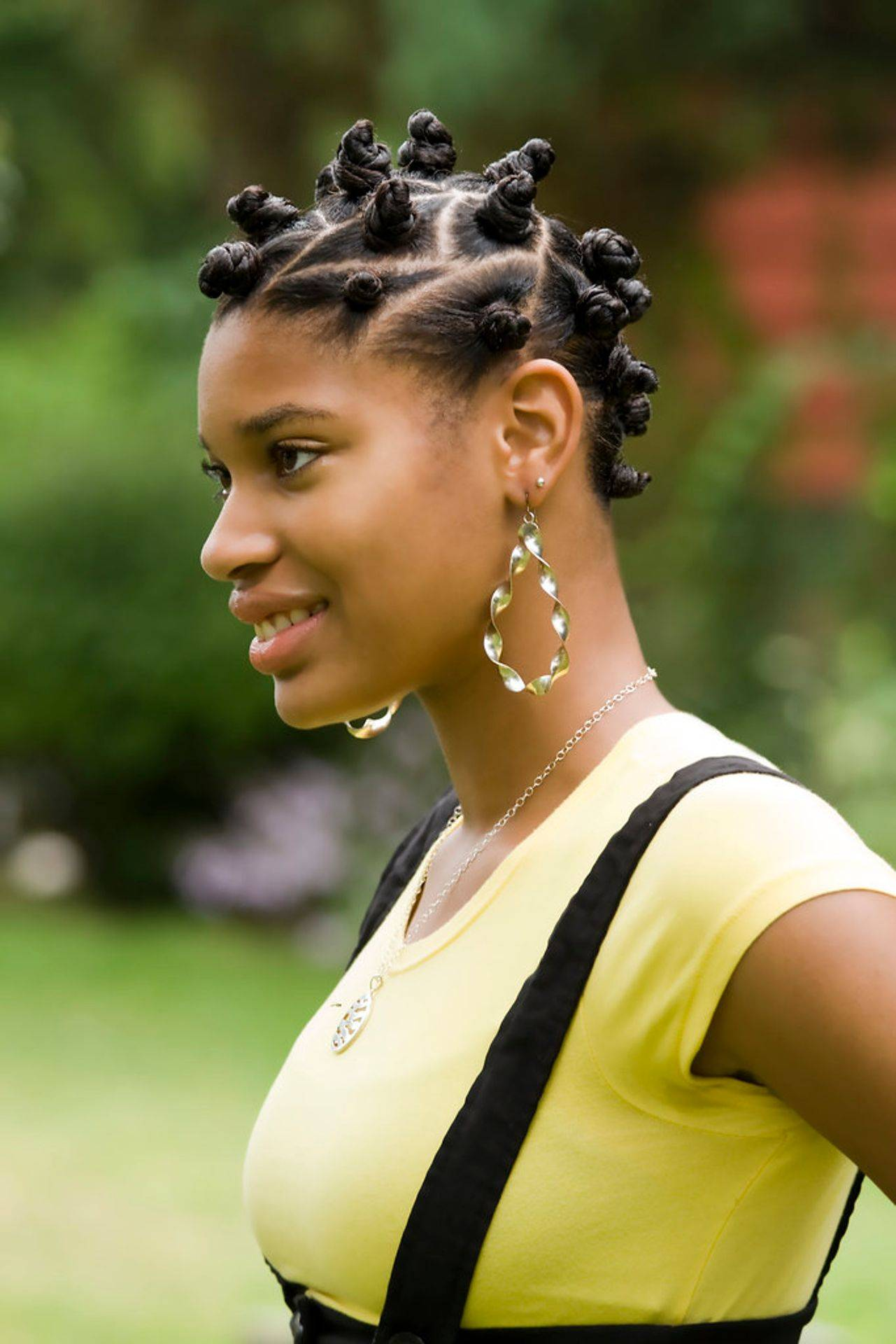 Natural hair, natural hairstyles