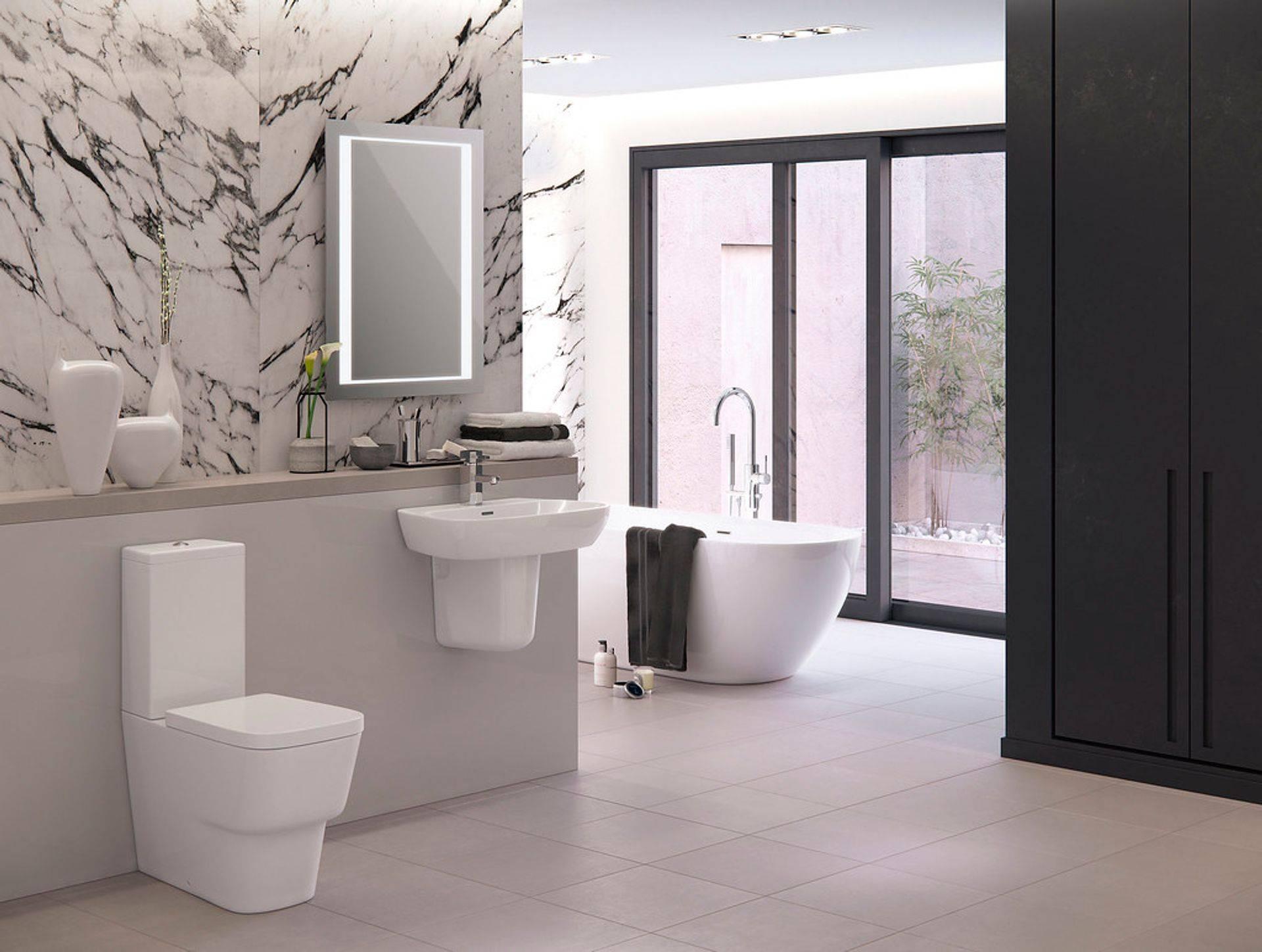 Elegant and sophisticated bathroom suites