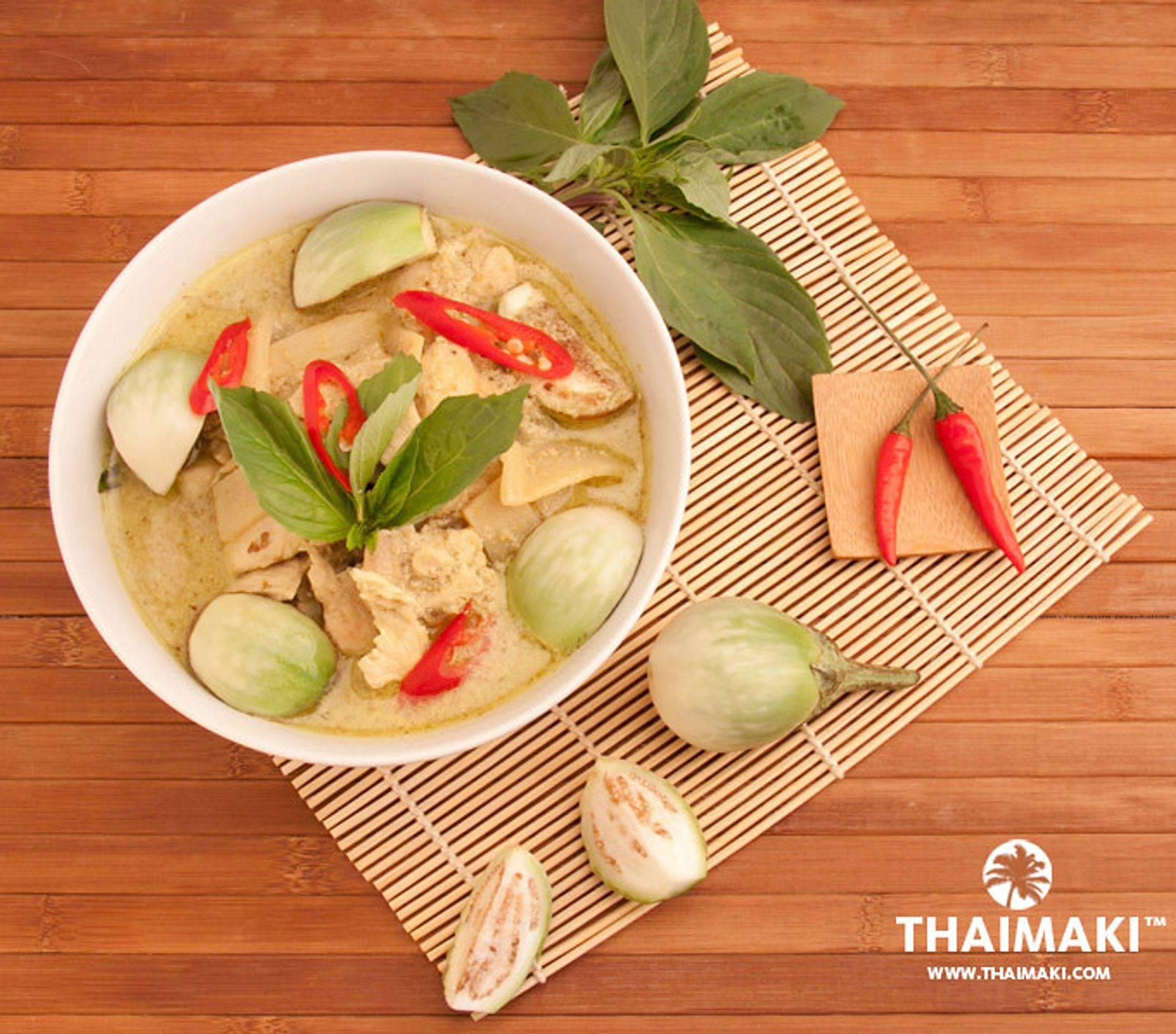 Des saveurs de la Thaïlande, curry, coco, citronnelle, aubergines