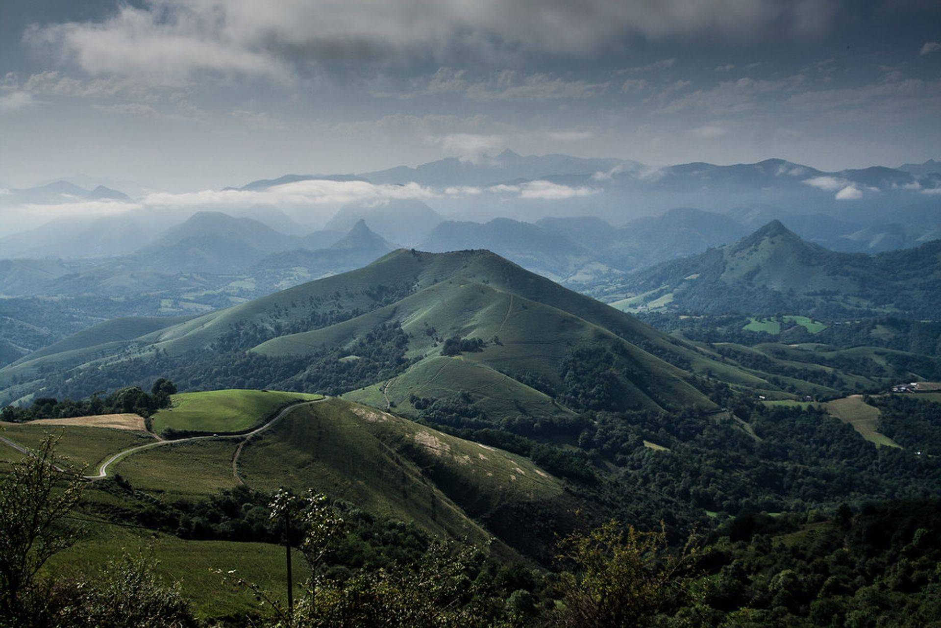 montagnes basque