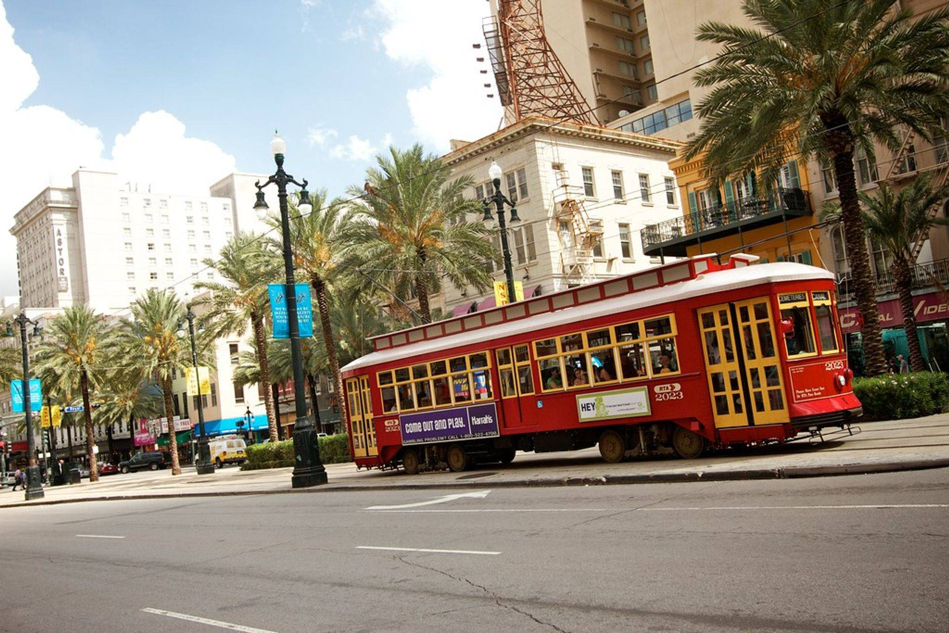 Affordable New Orleans Attorney Convenient Canal Street Near Streetcar Line Trolley