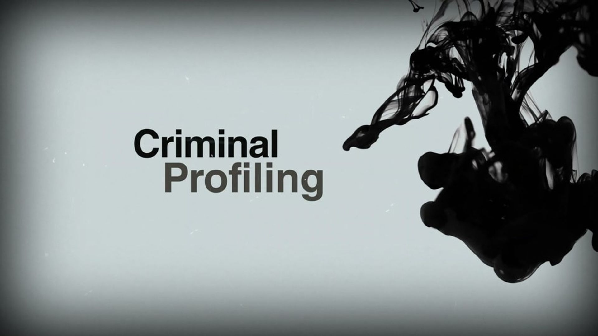 FBI Criminal Profiling