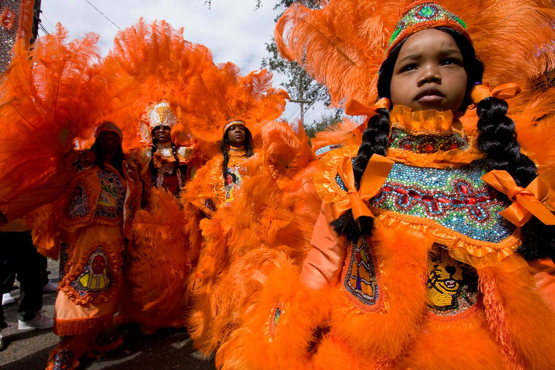 Affordable New Orleans Lawyer Veleka mardi gras indians