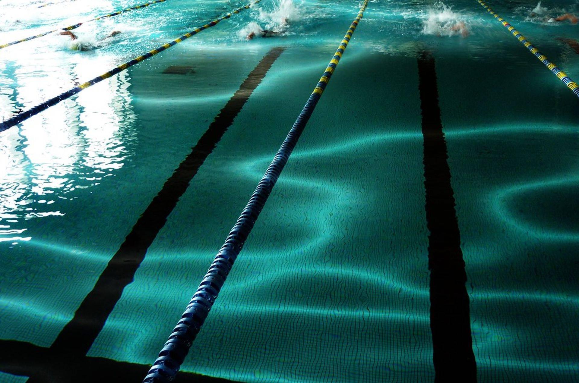 couloir de piscine
