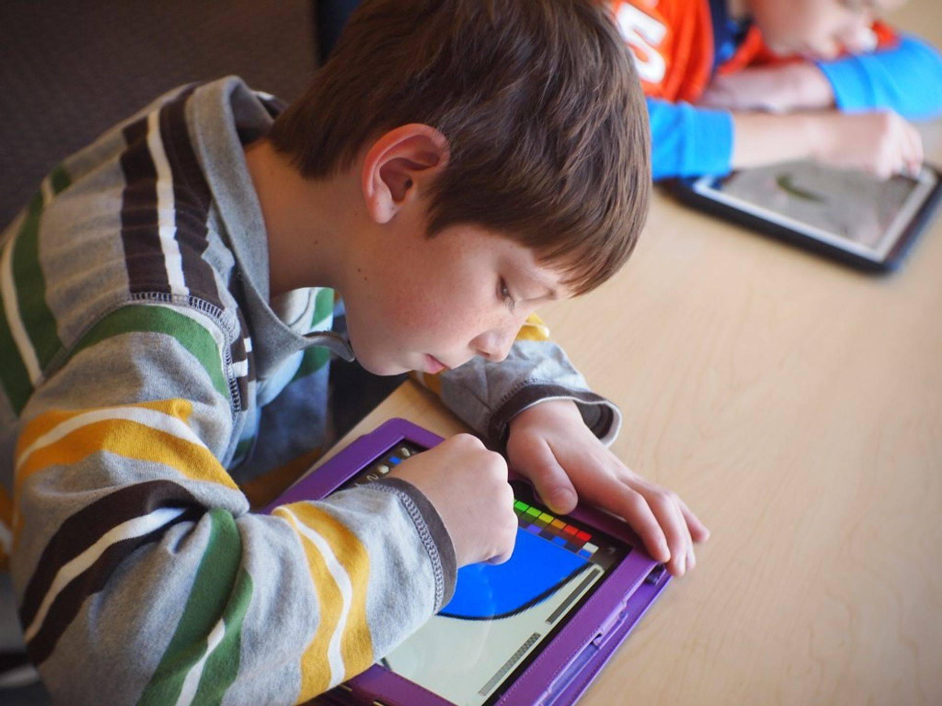 Technology helps with learning
