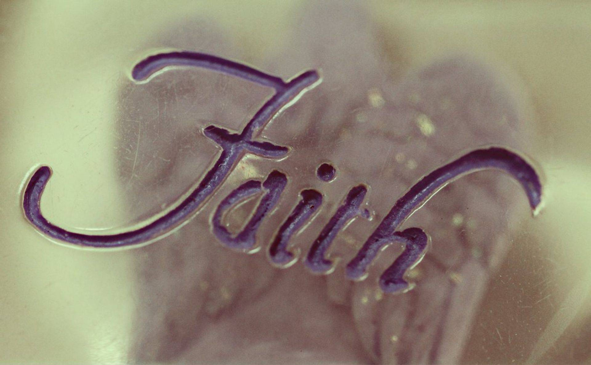 Come build your faith