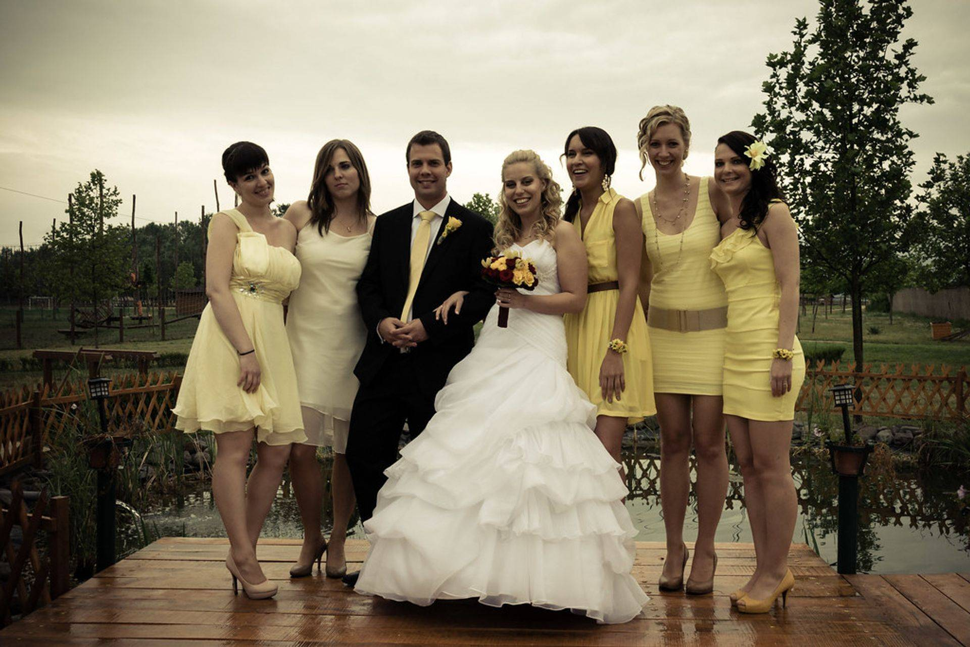 The Smith's Wedding Party