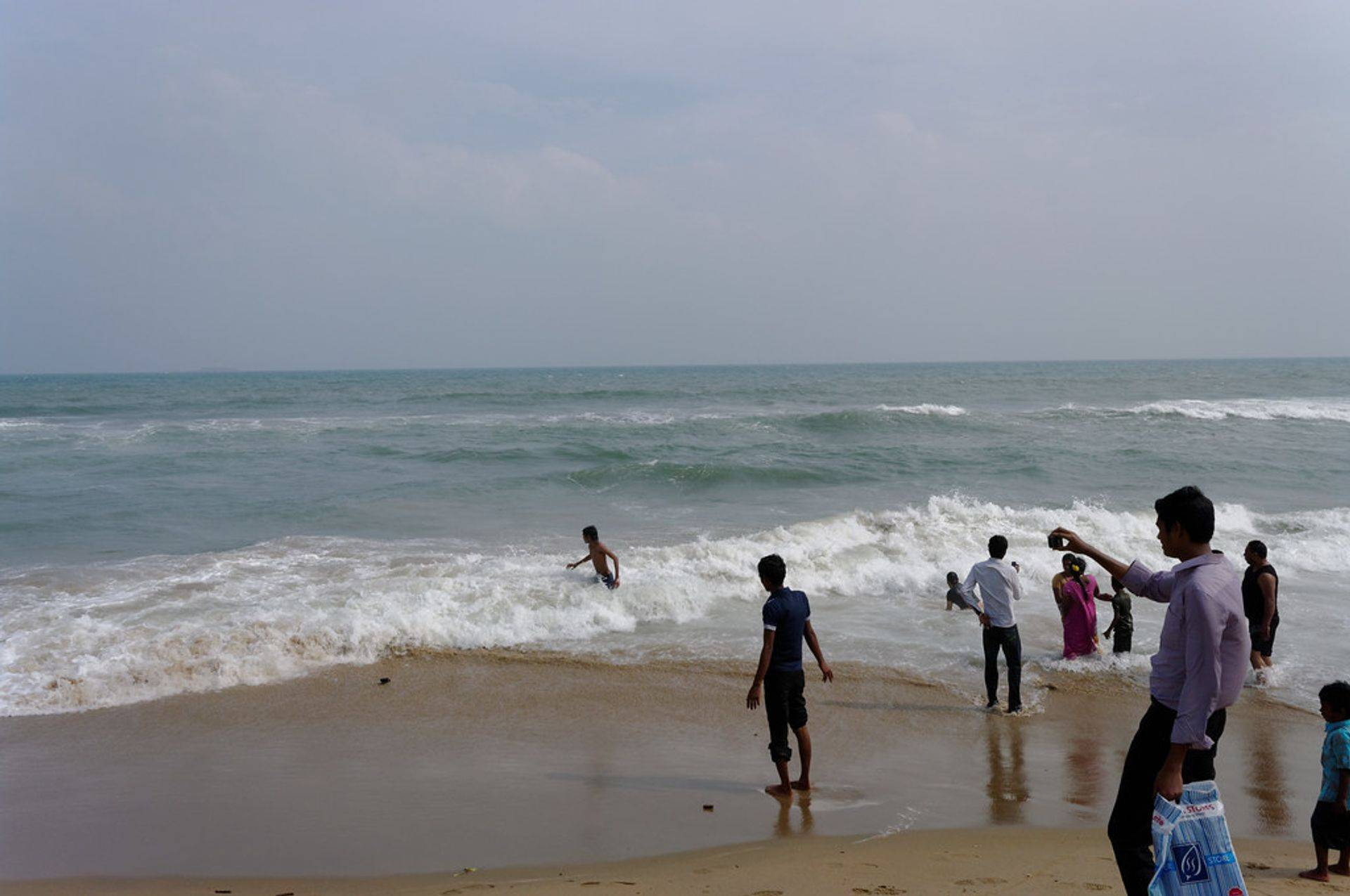 beach in chennai