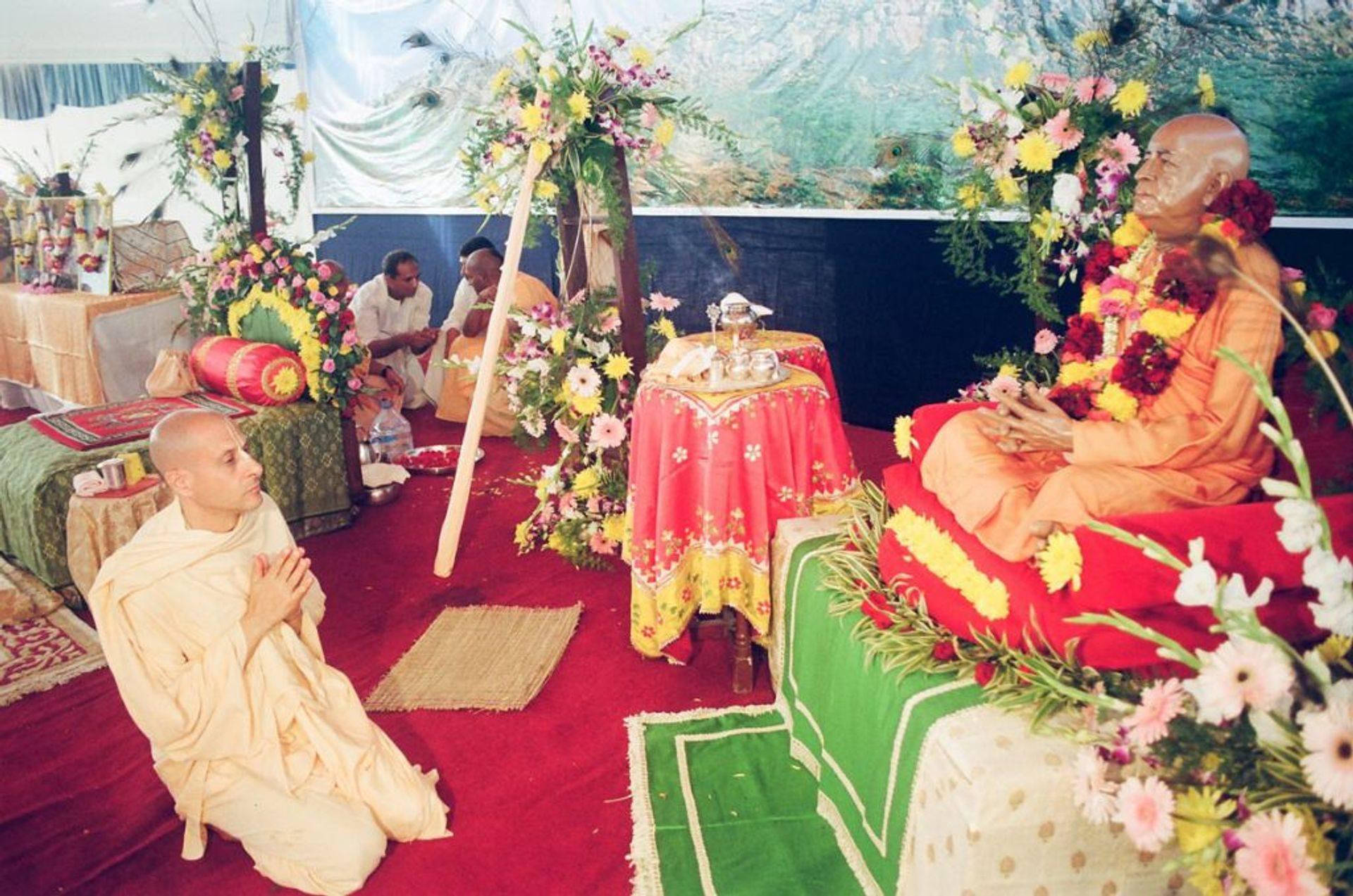 Prosesi Bali Hindu Krishna