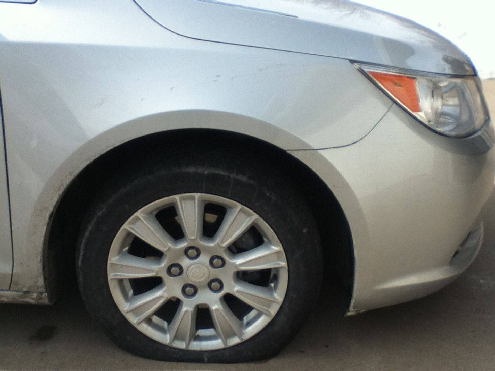Flat Tire, Uniondale