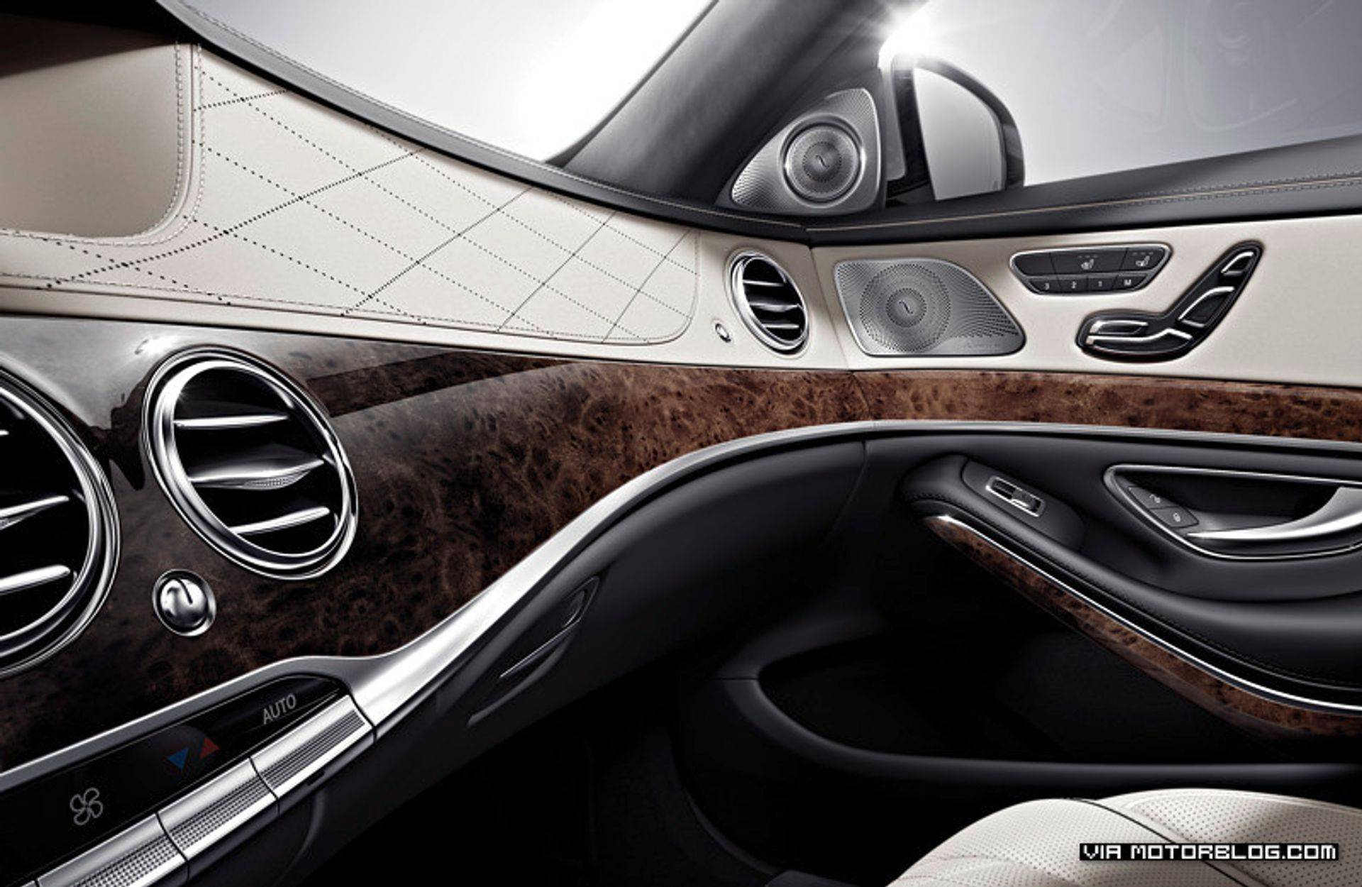 New Mercedes Benz S Class Interior
