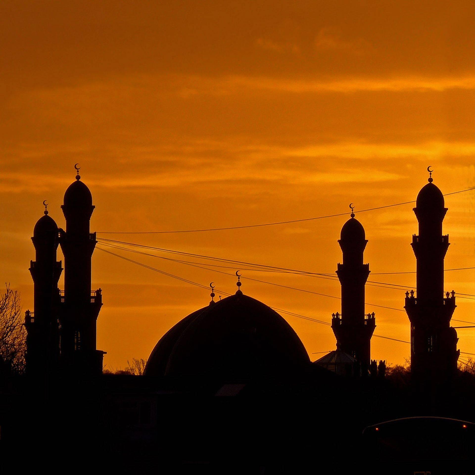 Grande mosquée de Bradford, Angleterre, l'une des plus belles d'Europe