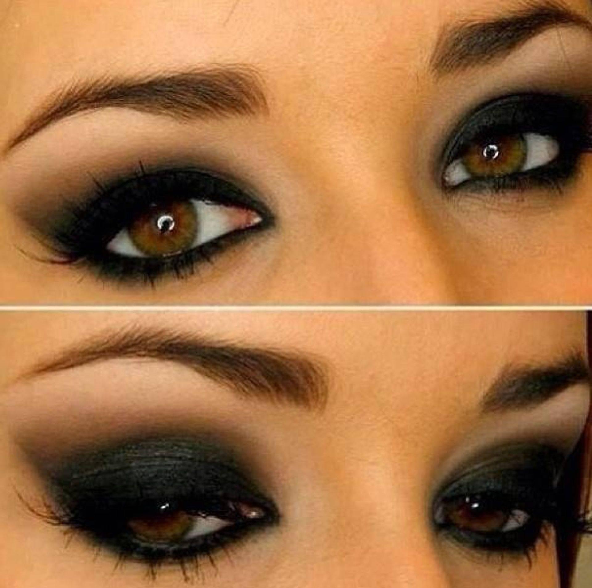 Супер макияж для карих глаз