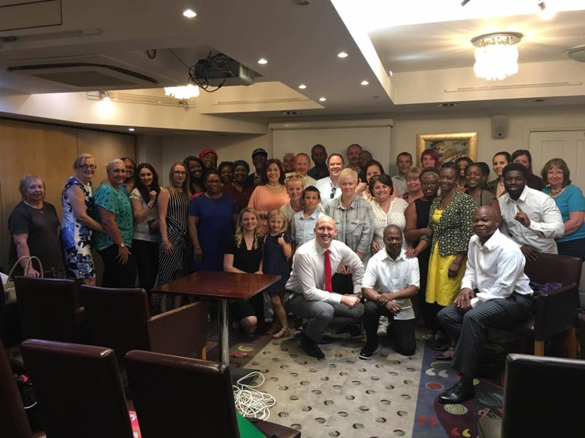 Fm Group Cosmetics team meeting