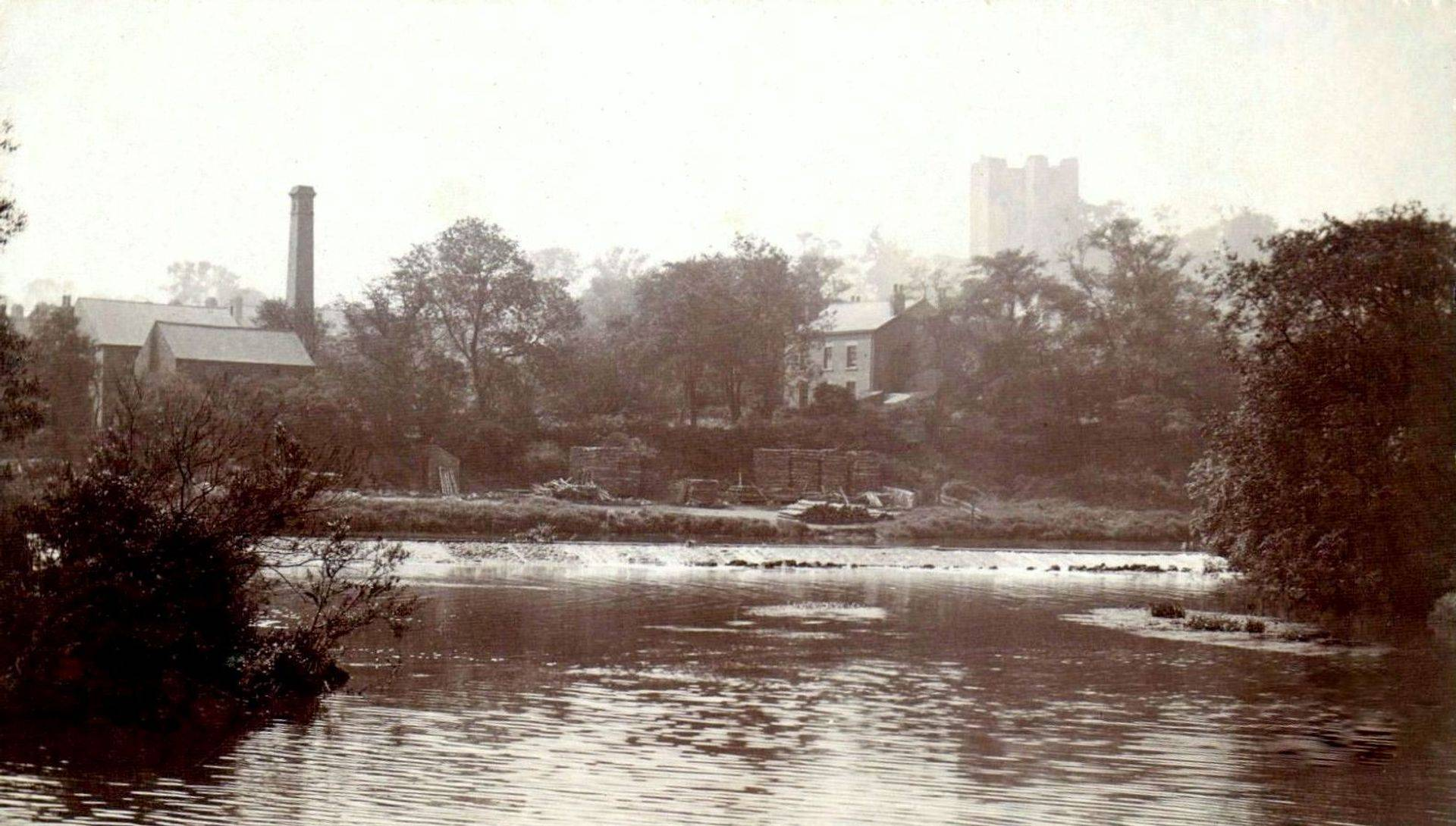 View of the River Don Burcroft.