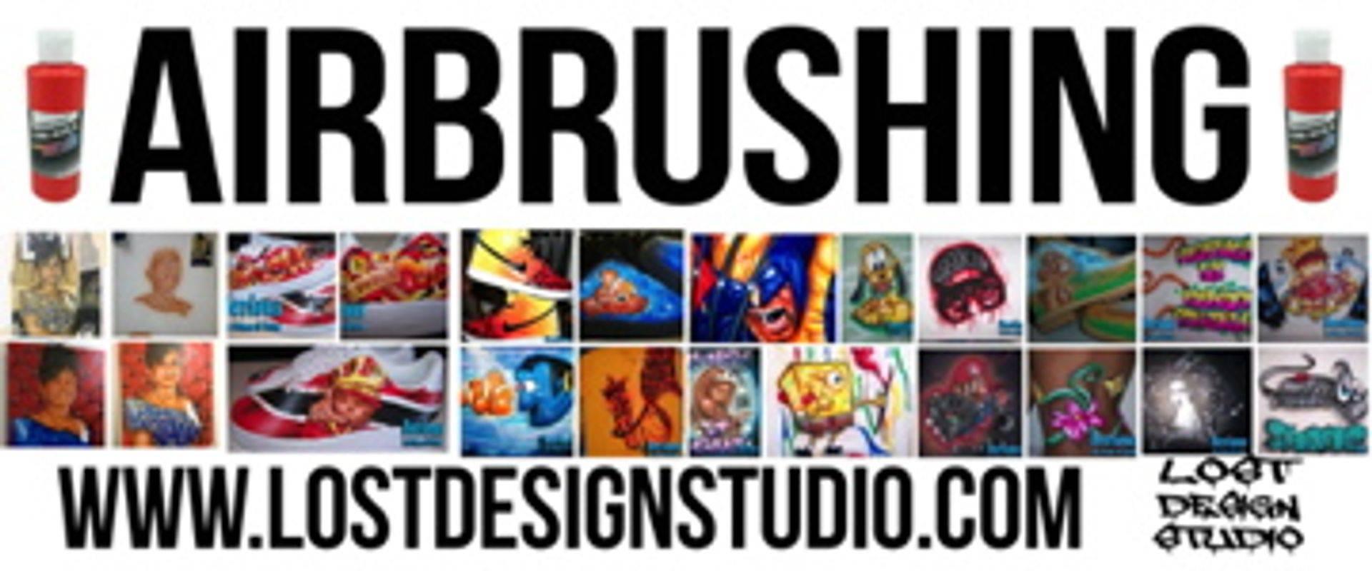 Lost Design Studio Printed T-shirts Flyer
