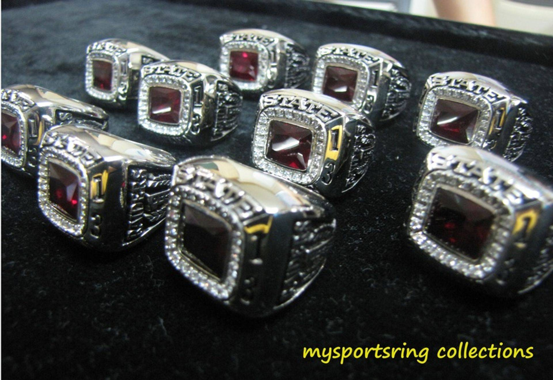 Customized Sports Championship Rings