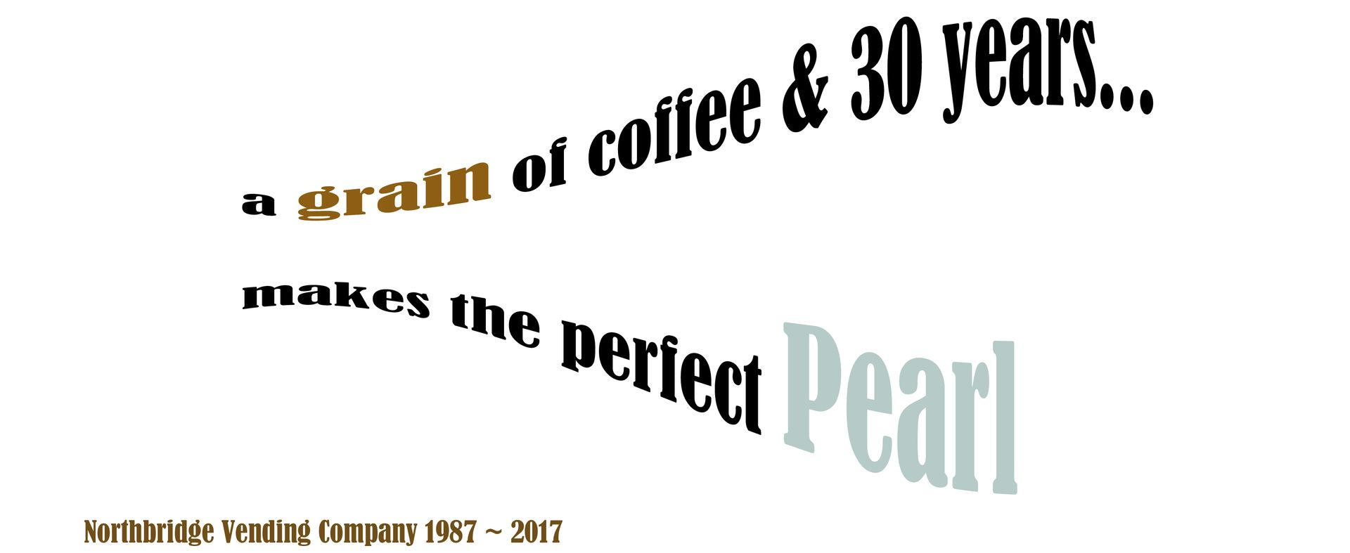pearl anniversary text indicating 30 years in operation