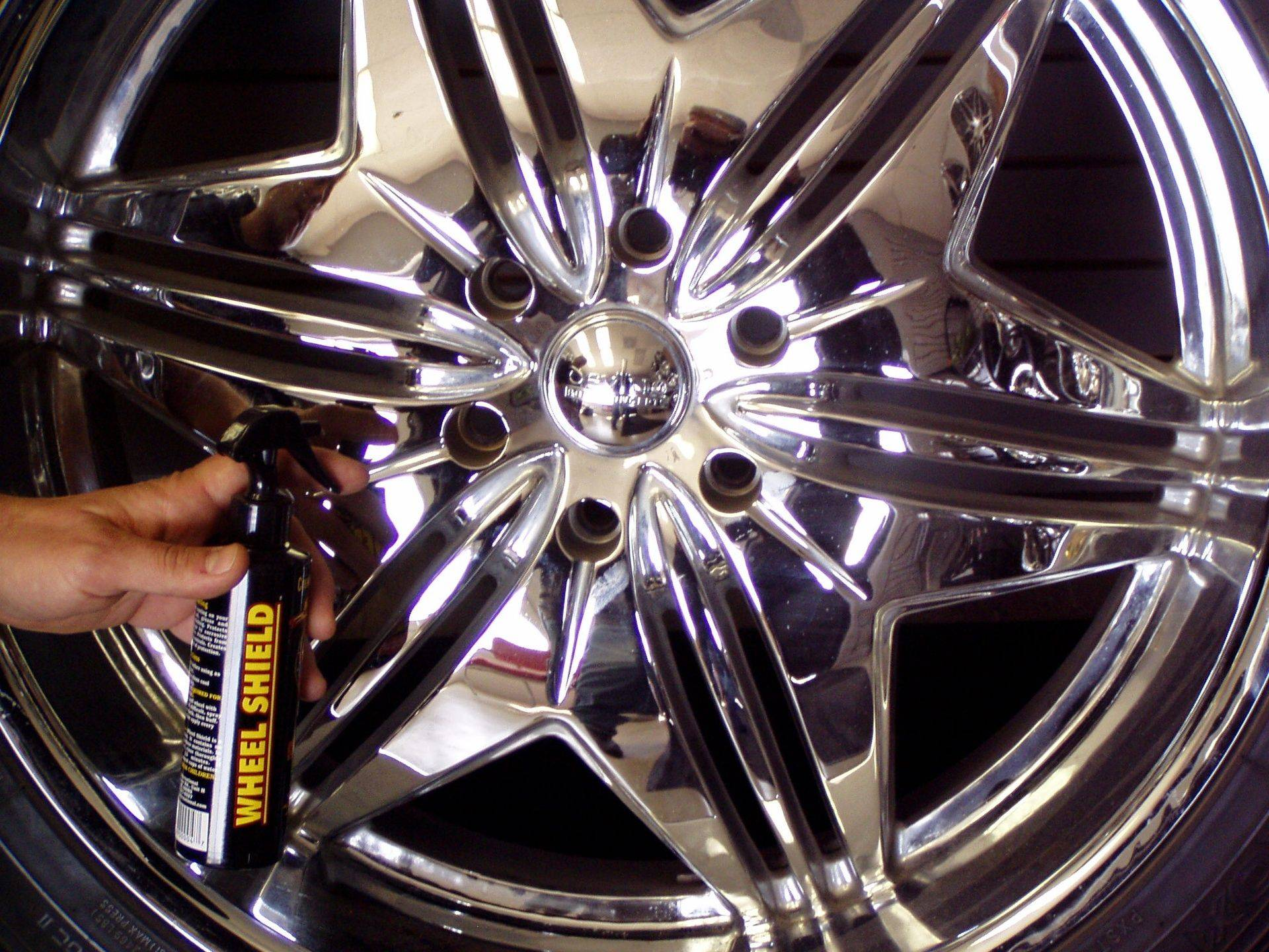 Use Wheel Shield wet or dry for that NEW wheel feel.