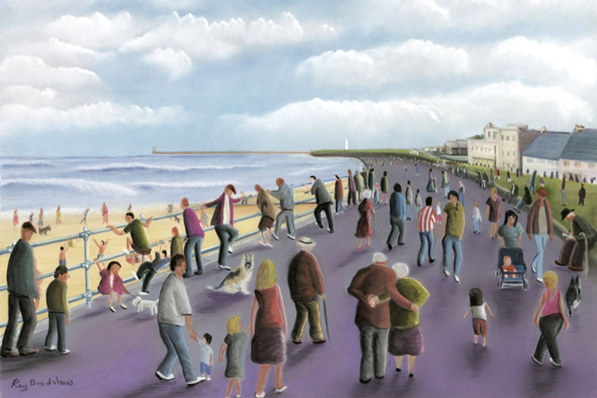 A stroll along the promenade at Sunderland