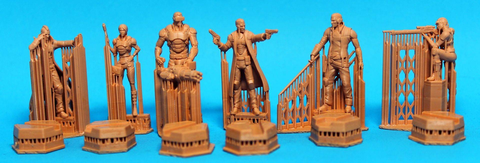 3D Print - 3D Sculpt - HD Resin Cast... and Paint Miniatures! Crowdfunding Manager Online Store