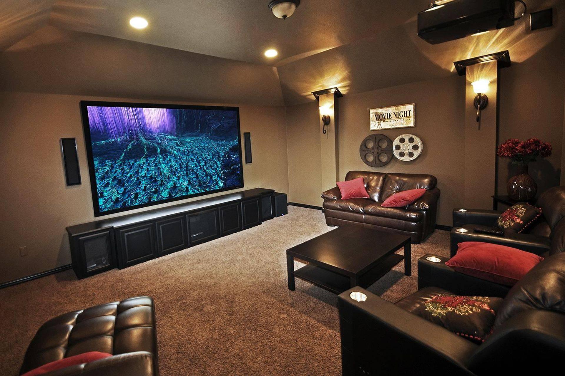 Prewire, Design service, Screen, Projector, TV Aerial, Repairs, Installation, In home service