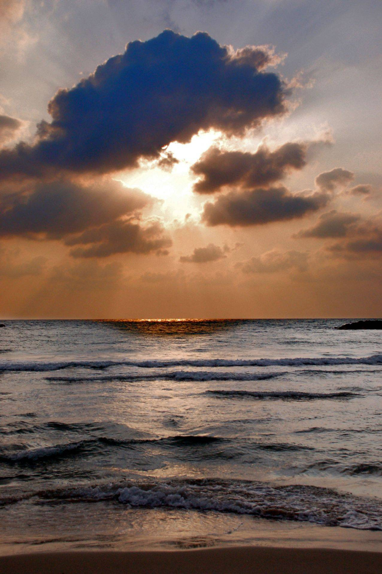 sunset on the beach-Intuitive Path Astrology