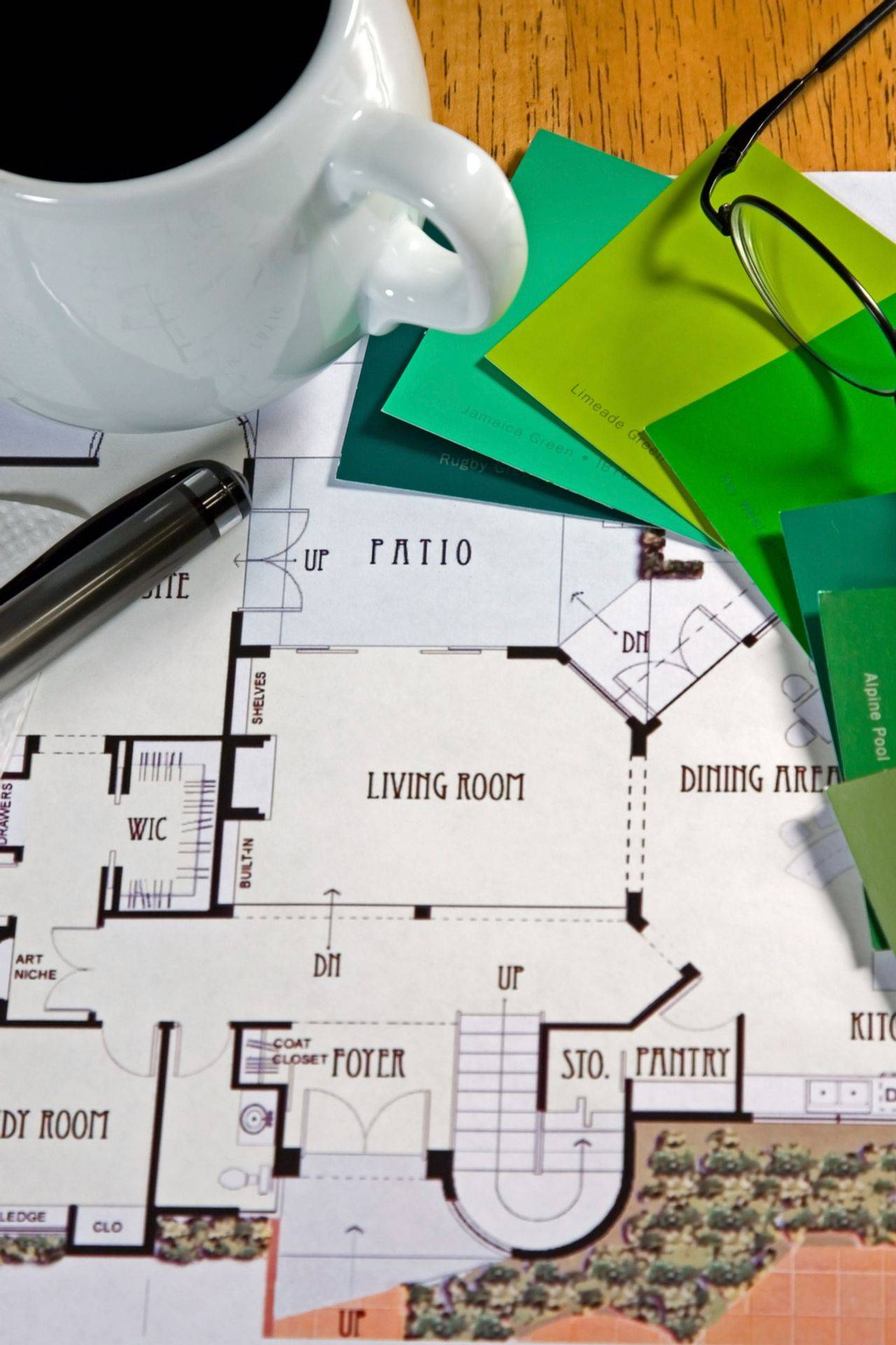 Possible floor plans for a dream home