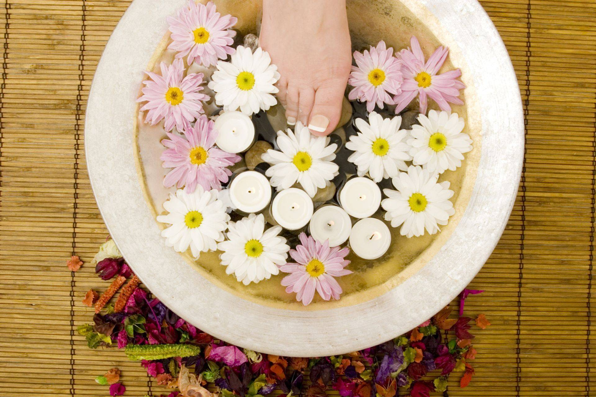 Peppermint Detoxing Foot Bath