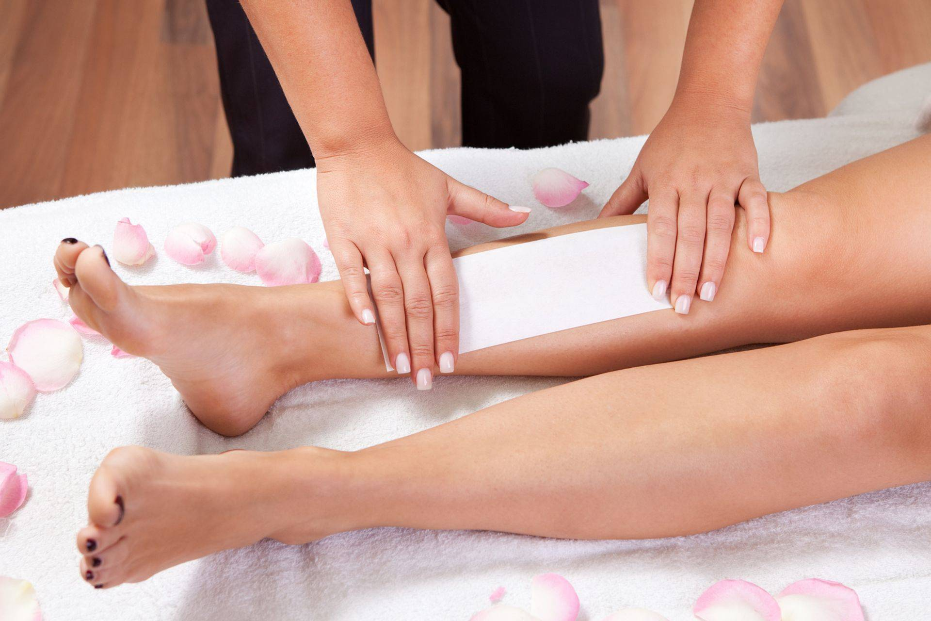 Waxing Services soothing and nourishing technique
