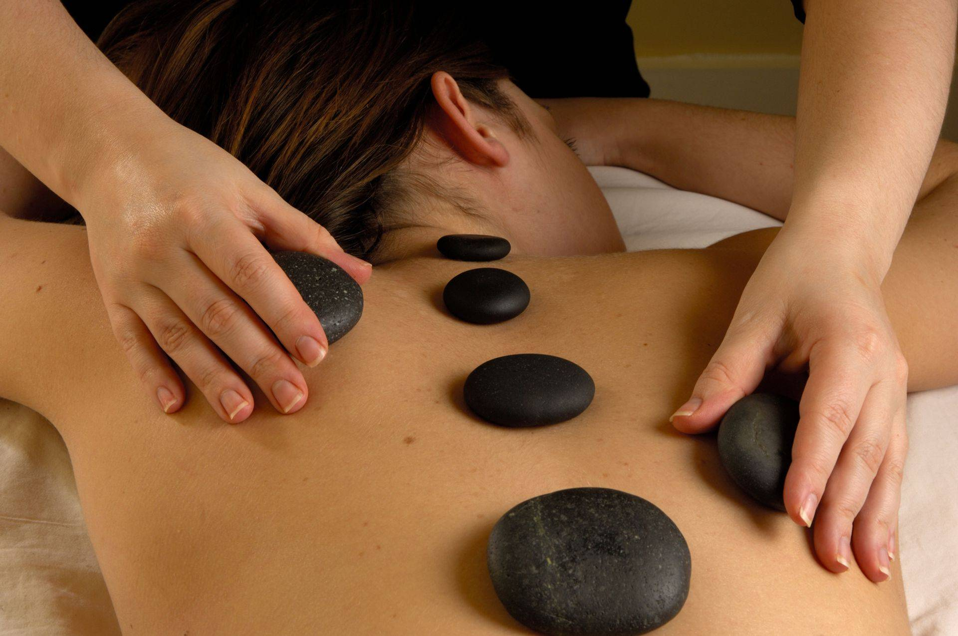 Melt Away My Pain Hot Stone Massage