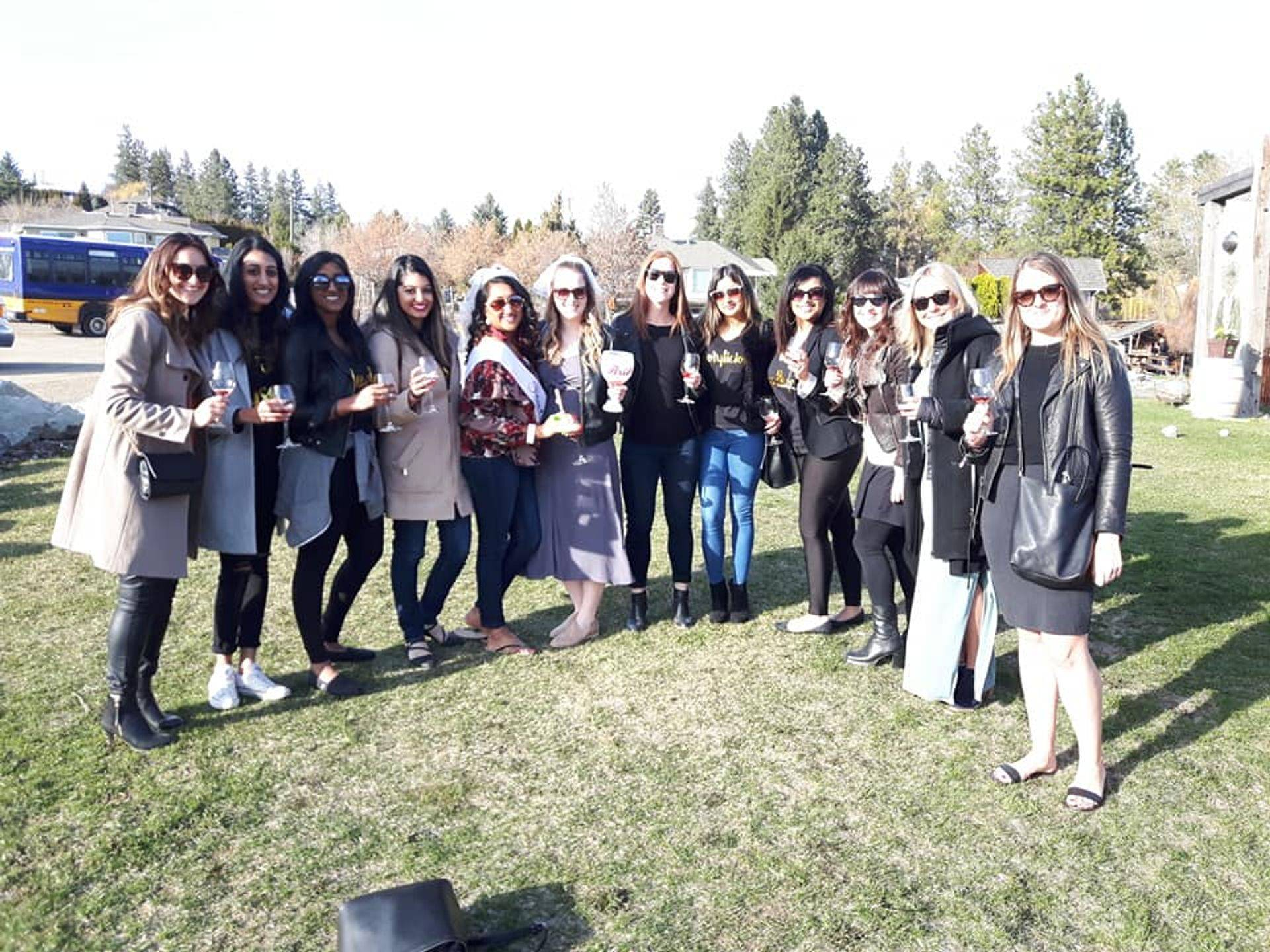 Kelowna #1 Bachelorrette Wine Tour  at Say Hi to Okanagan Tours.