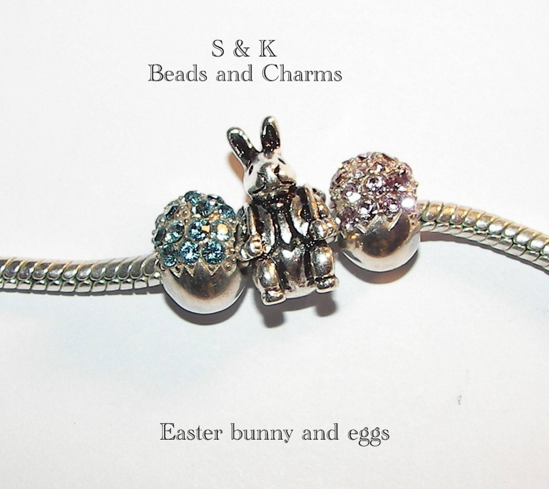 Peter rabbit charms  from S&K beads and Charms