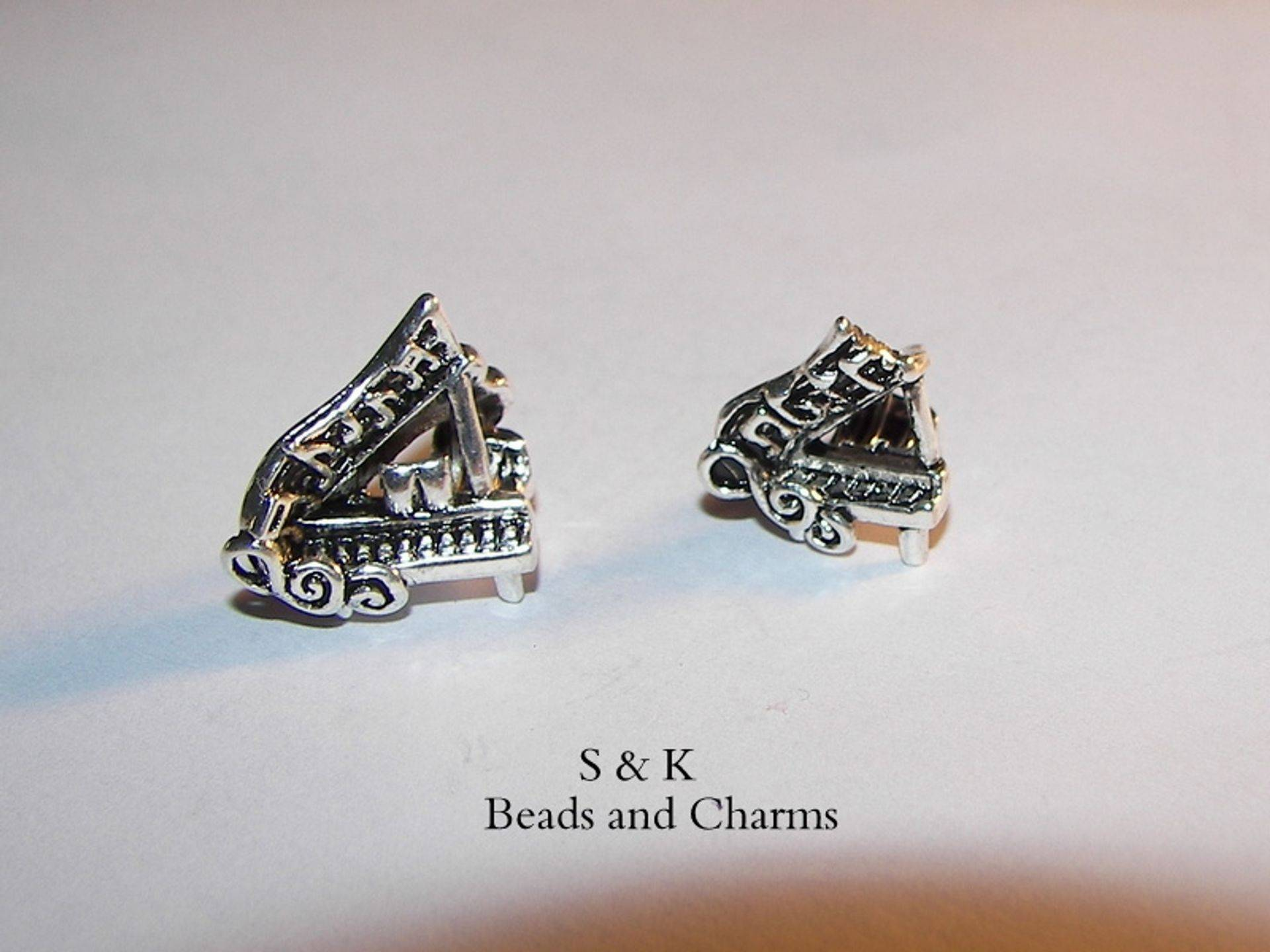 Piano charms to fit pandora  from S&K beads and Charms