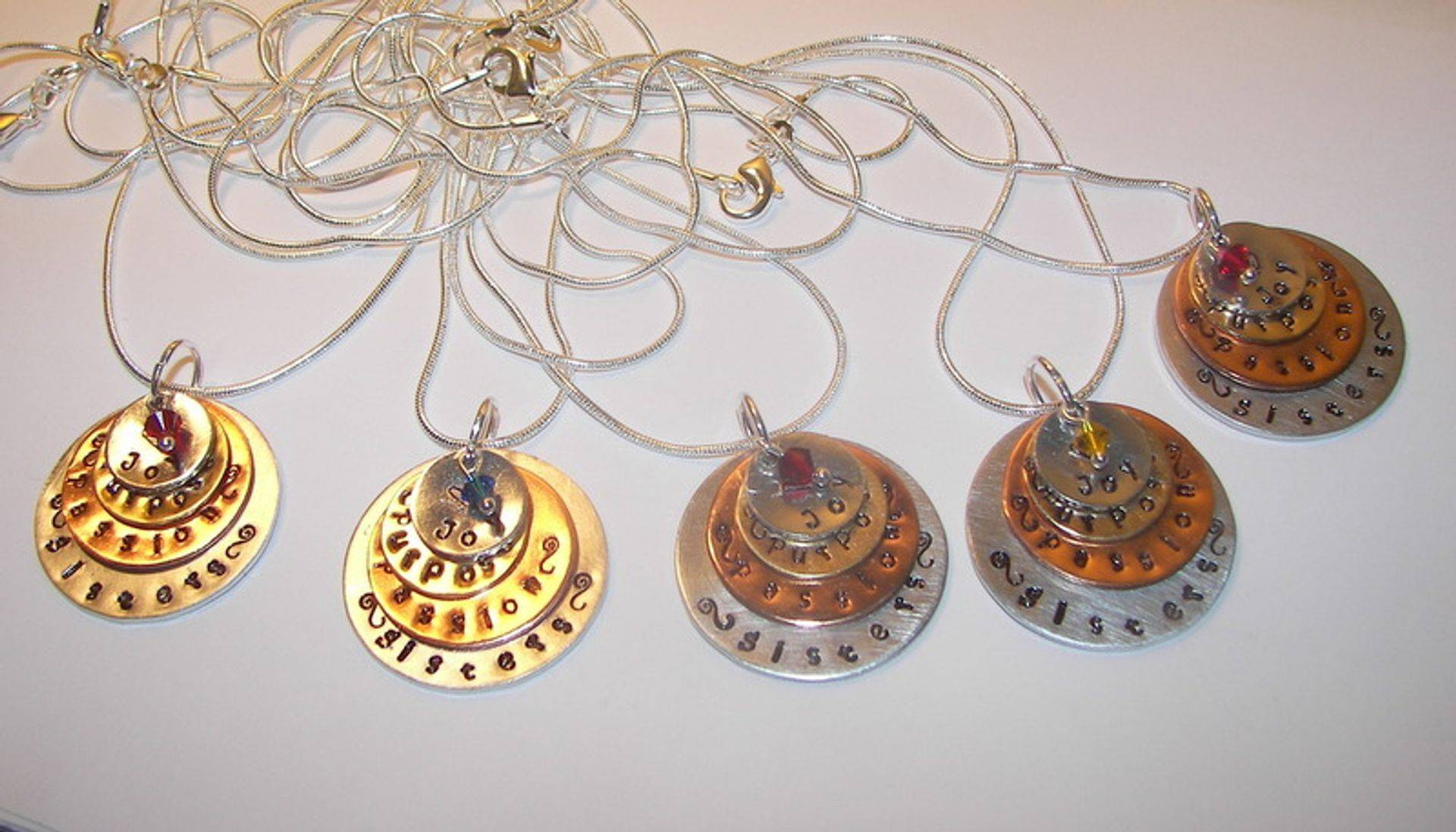 custom hand stamped designs from S&K