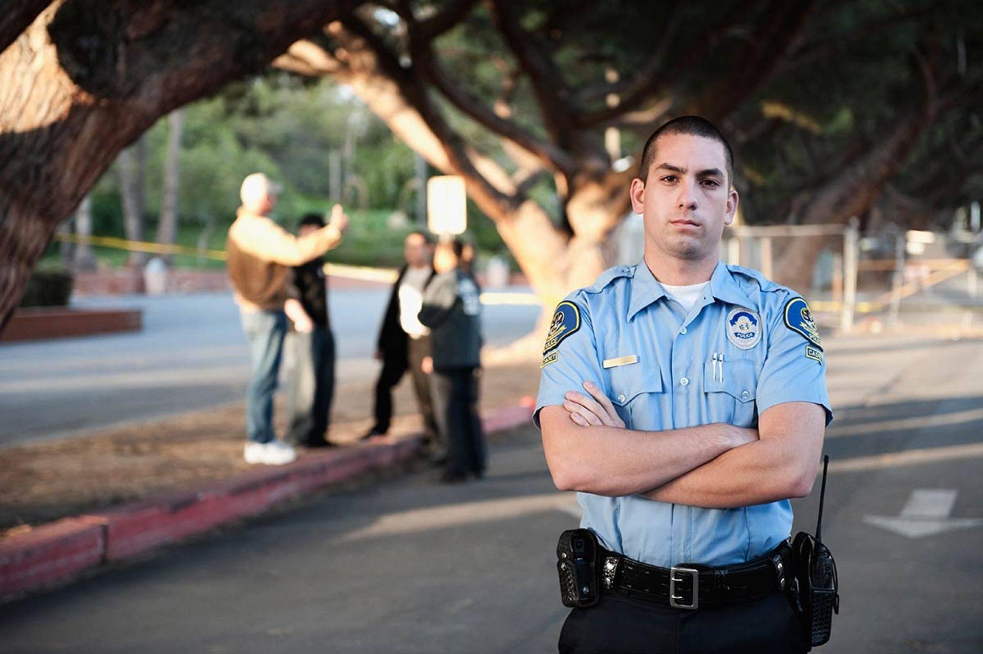 Uniform security guard, Boston, MA