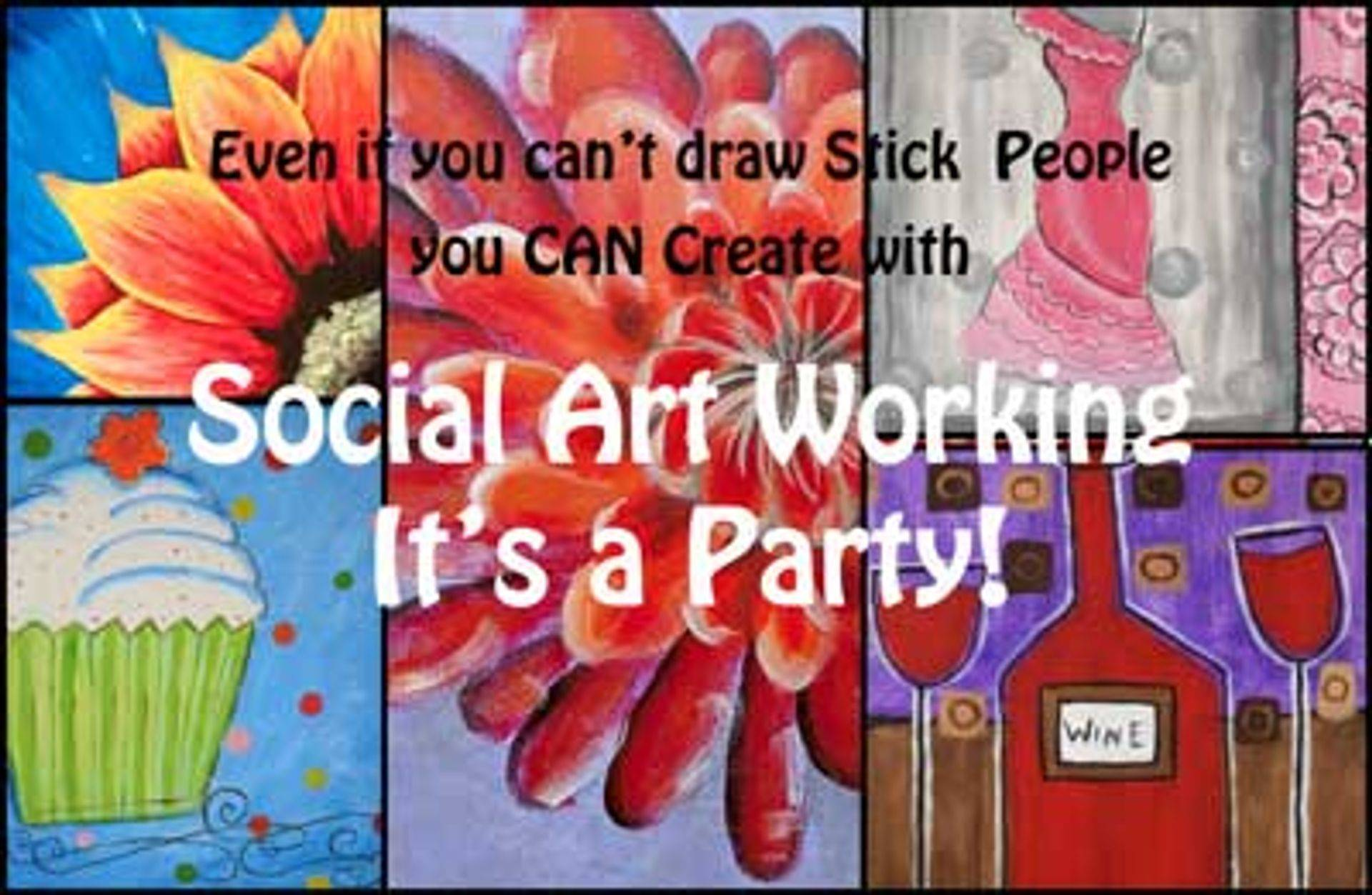 Social ArtWorking, Canvases to Choose from