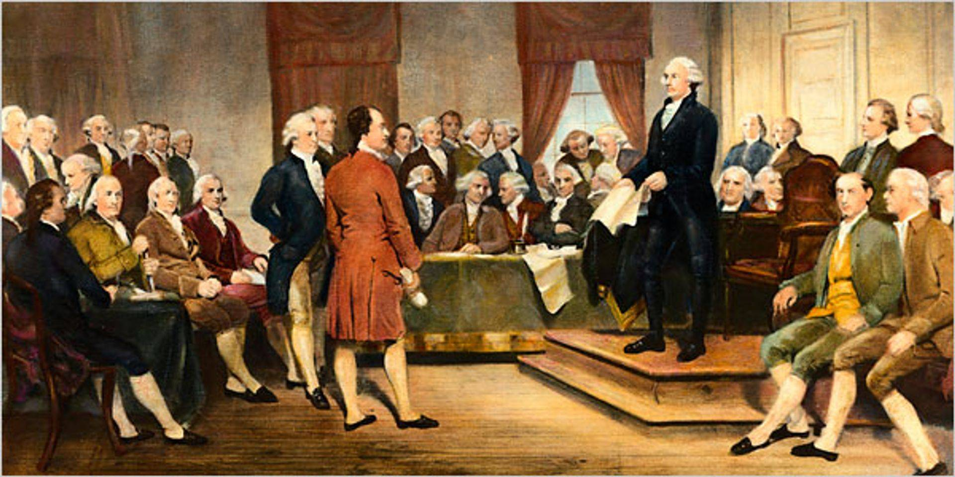 the separation of powers as created by the founding fathers in america